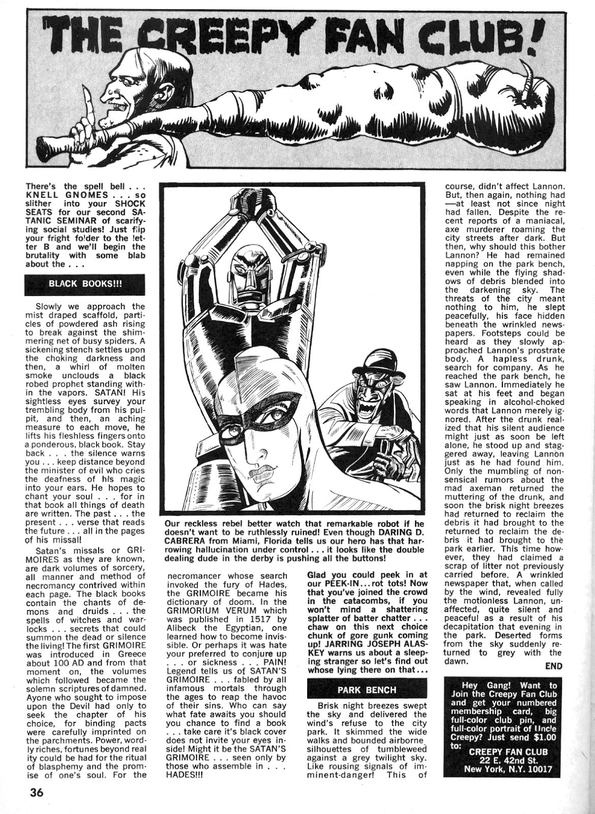 Creepy (1964) Issue #25 #25 - English 35