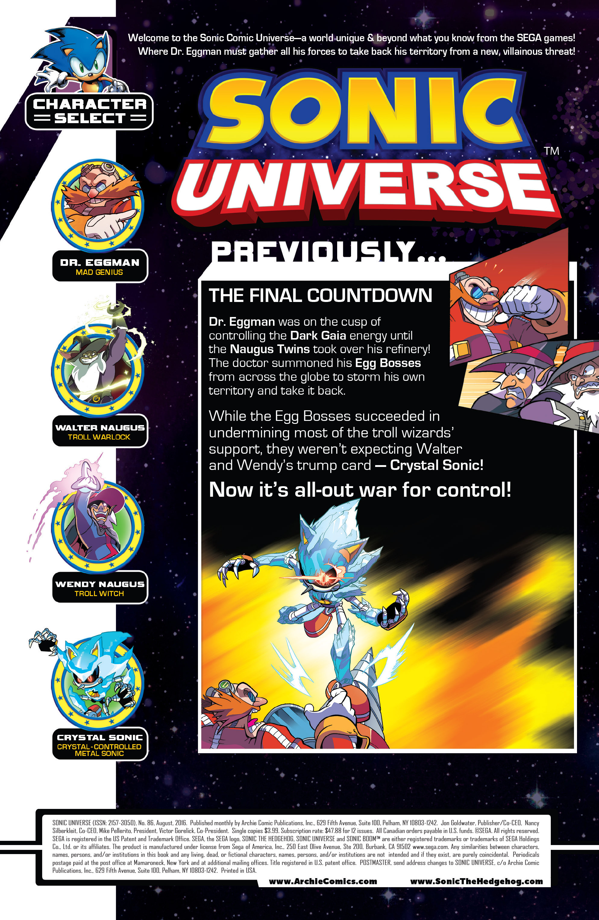 Read online Sonic Universe comic -  Issue #86 - 2