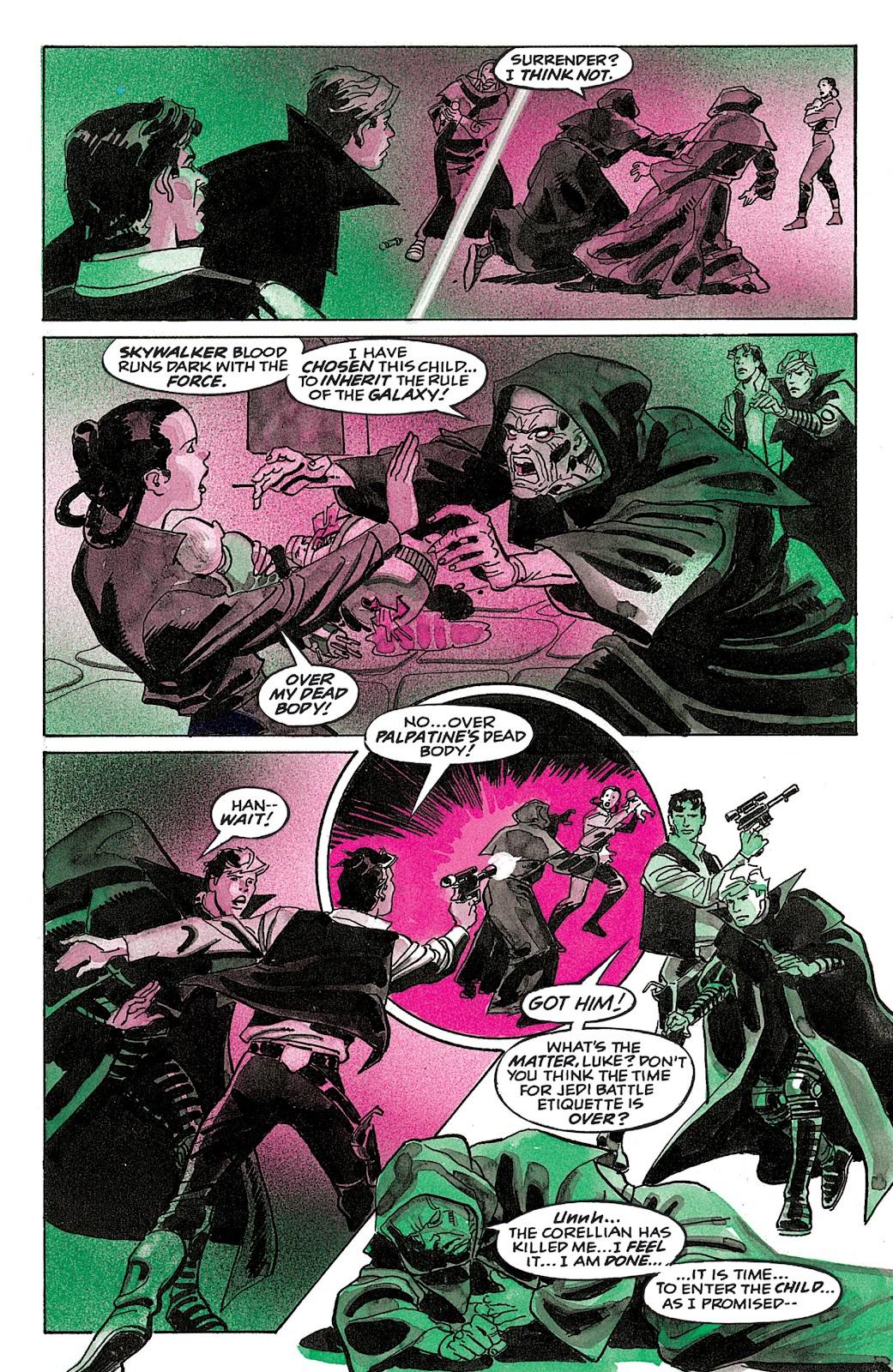 Read online Star Wars: Dark Empire Trilogy comic -  Issue # TPB (Part 4) - 51