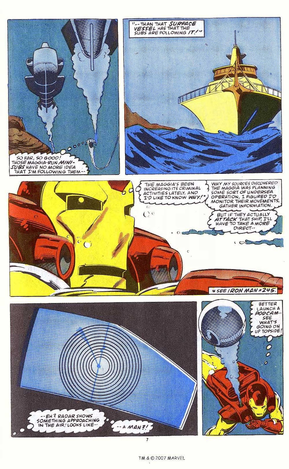 Iron Man Annual issue 10 - Page 9