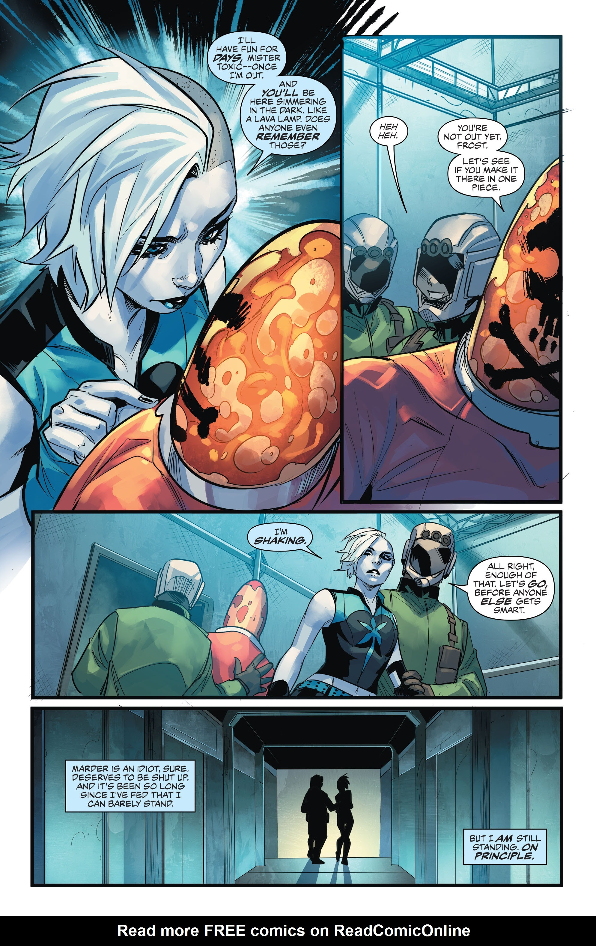 Read online Justice League of America: Killer Frost - Rebirth comic -  Issue # Full - 10