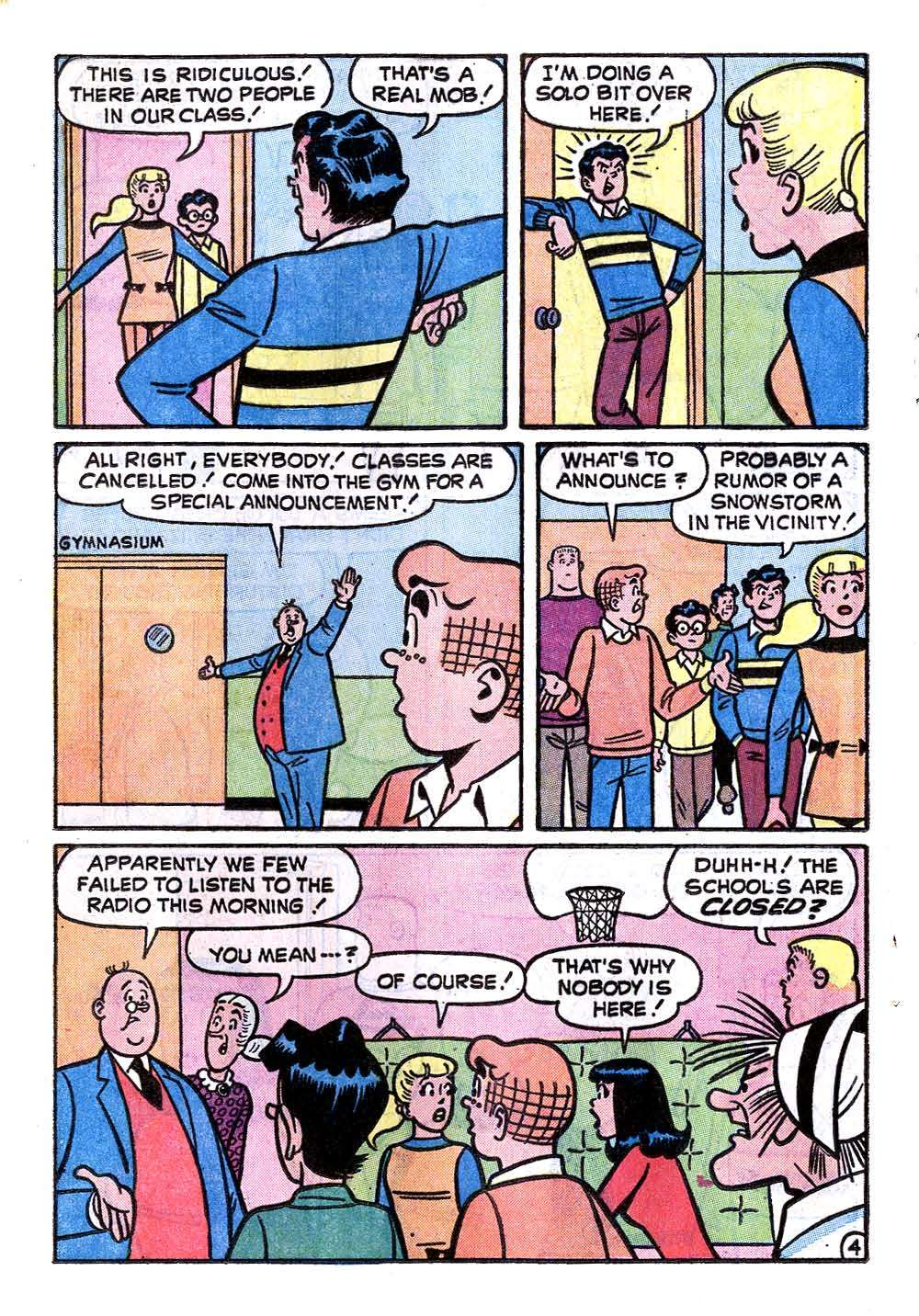 Read online Archie (1960) comic -  Issue #232 - 16