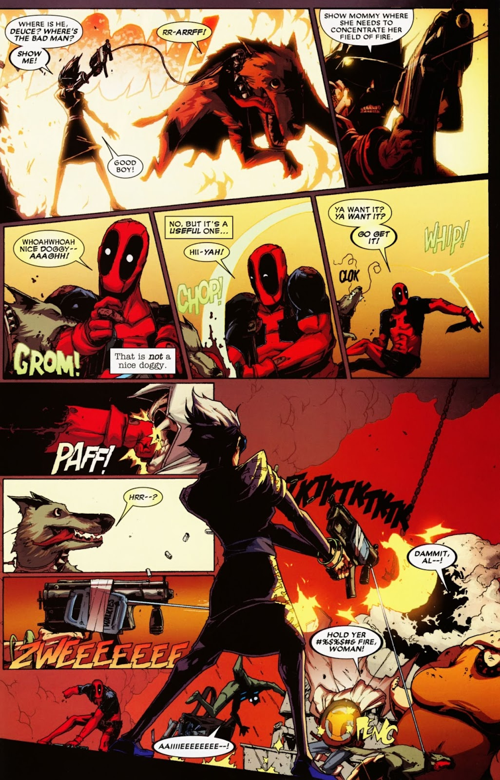 Read online Deadpool (2008) comic -  Issue #36 - 16