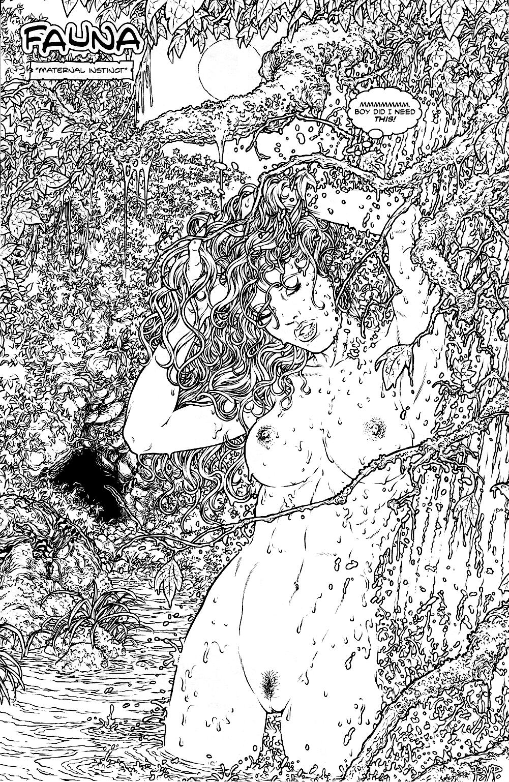 Read online Jungle Fantasy (2002) comic -  Issue #1 - 3