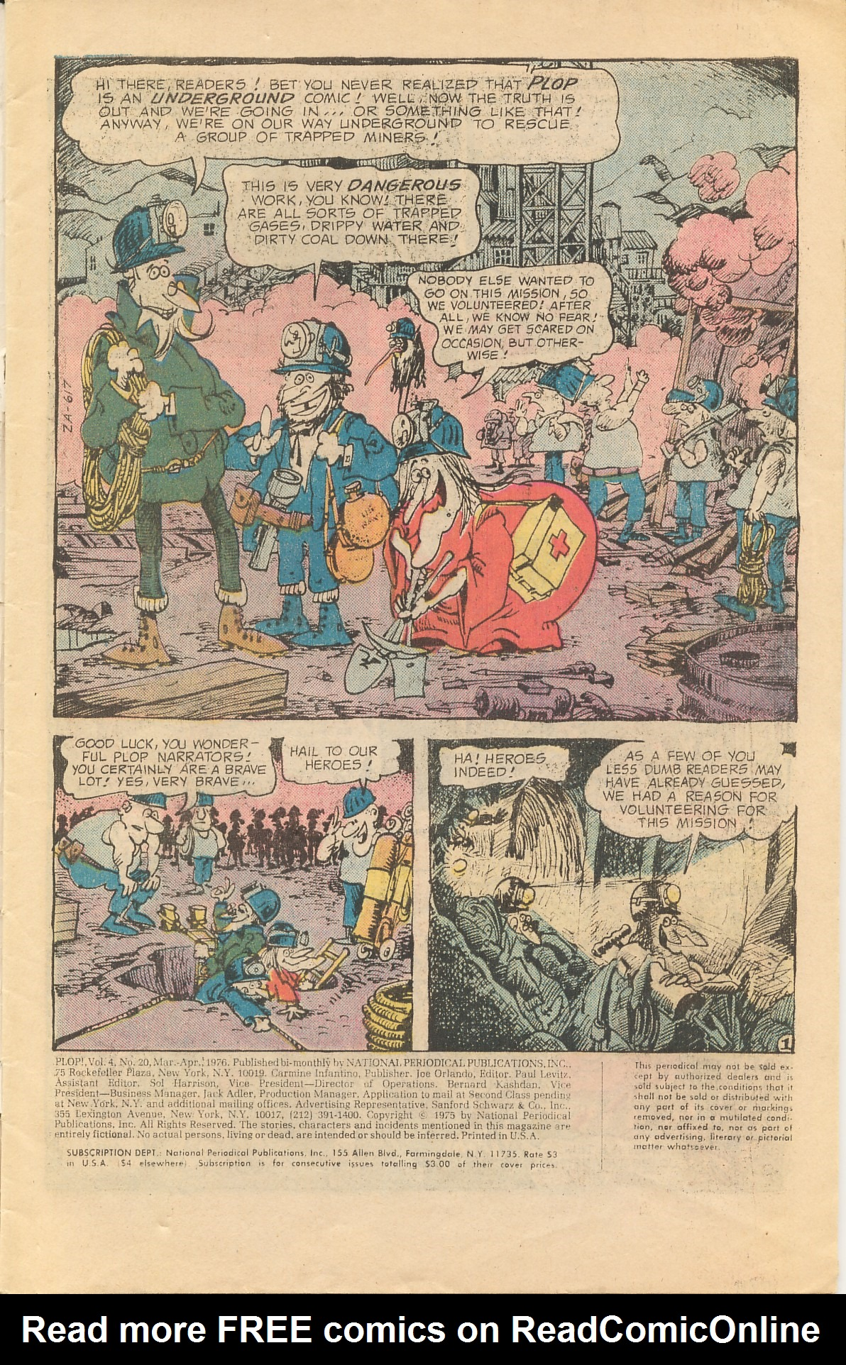 Read online Plop! comic -  Issue #20 - 3