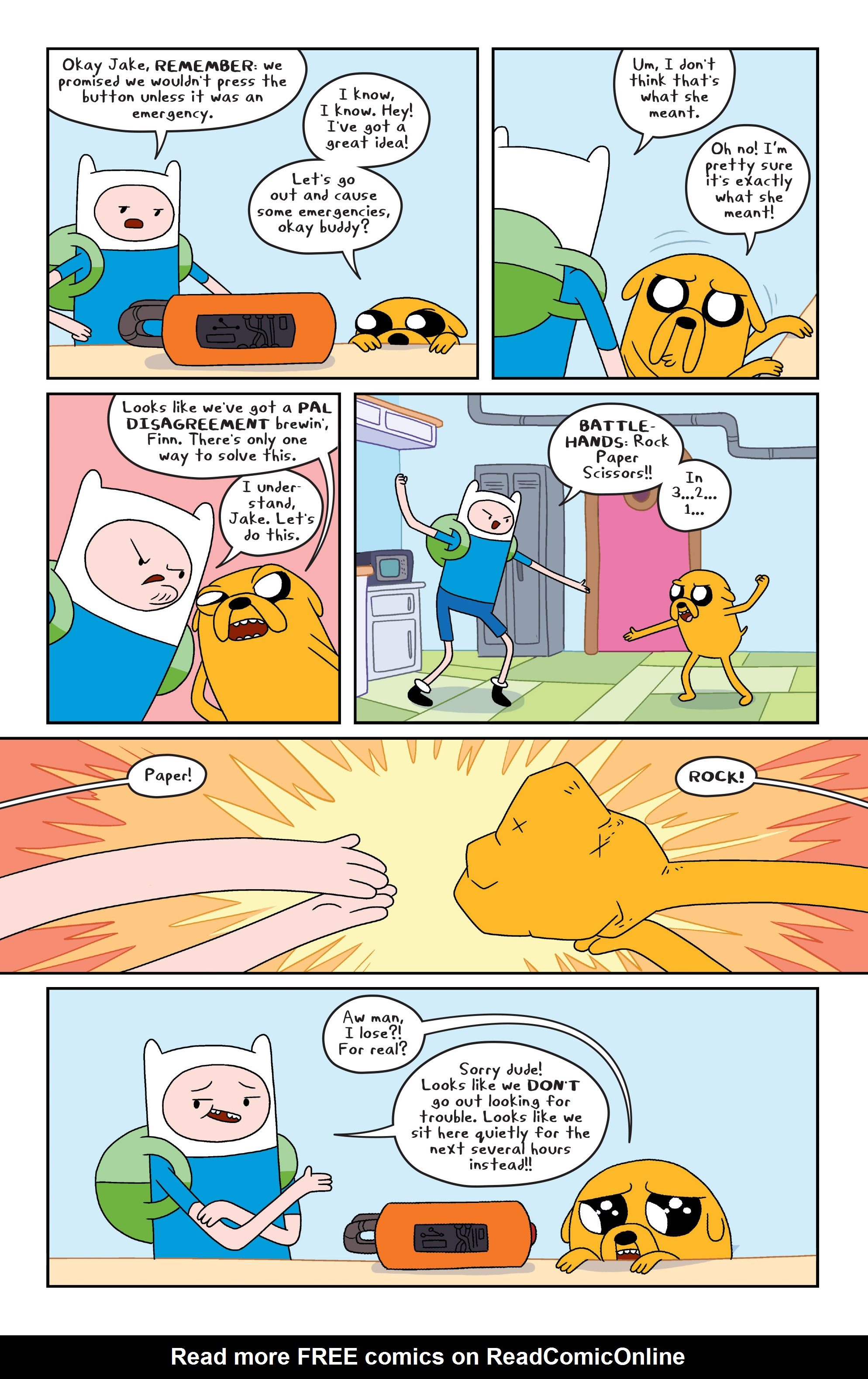 Read online Adventure Time comic -  Issue #6 - 14