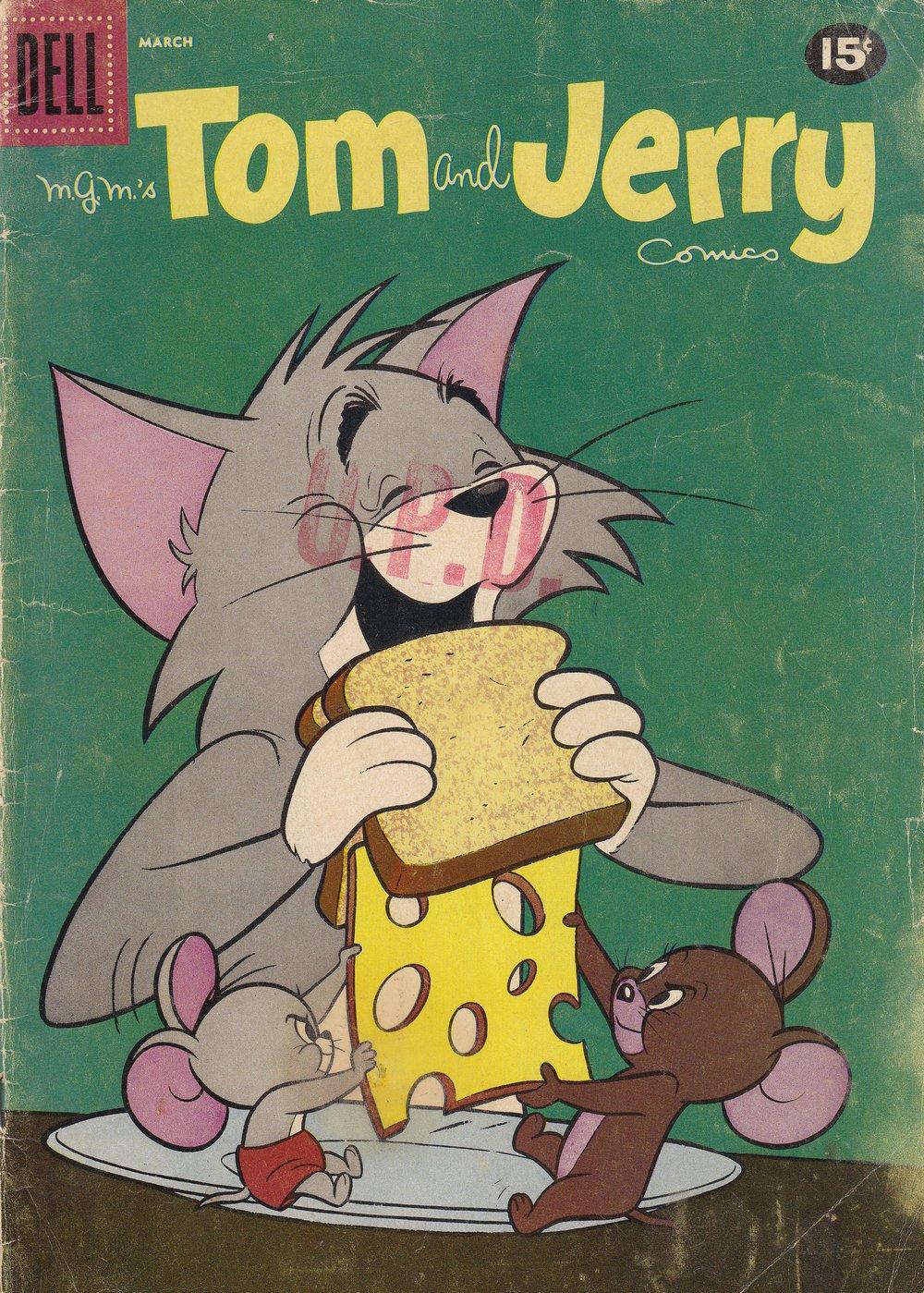 Tom & Jerry Comics 200 Page 1