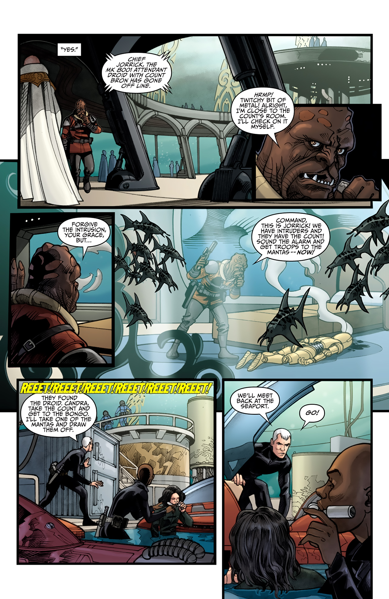 Read online Star Wars: Agent Of The Empire - Hard Targets comic -  Issue #4 - 13