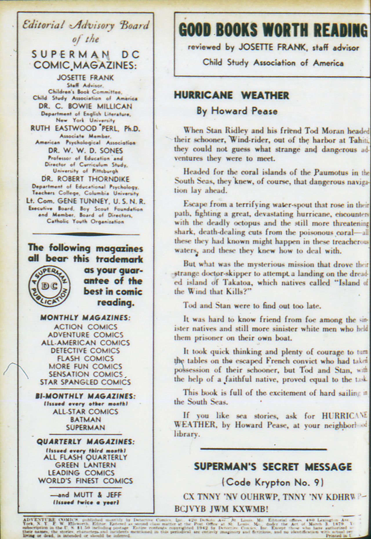 Read online Adventure Comics (1938) comic -  Issue #74 - 3