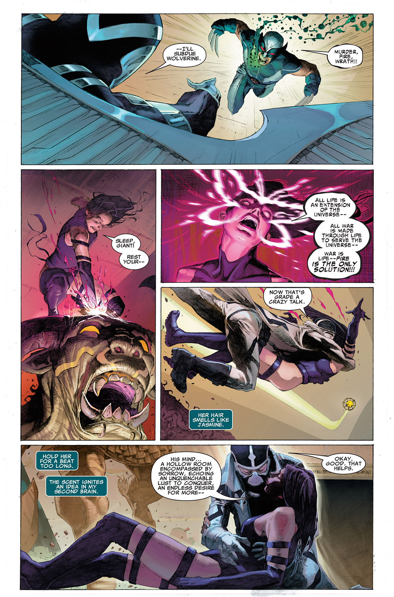 Read online Uncanny X-Force (2010) comic -  Issue #1 - 18