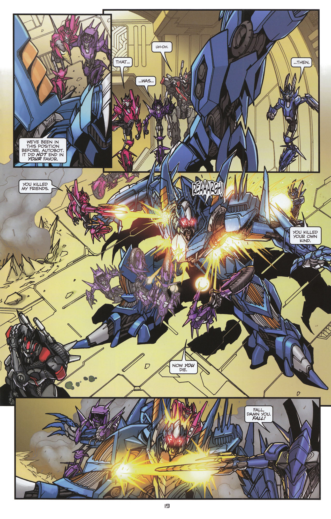 Read online Transformers: Tales of The Fallen comic -  Issue #6 - 21