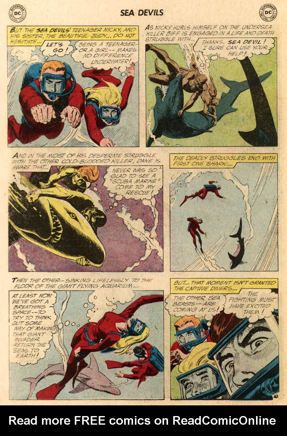 Read online Sea Devils comic -  Issue #5 - 15