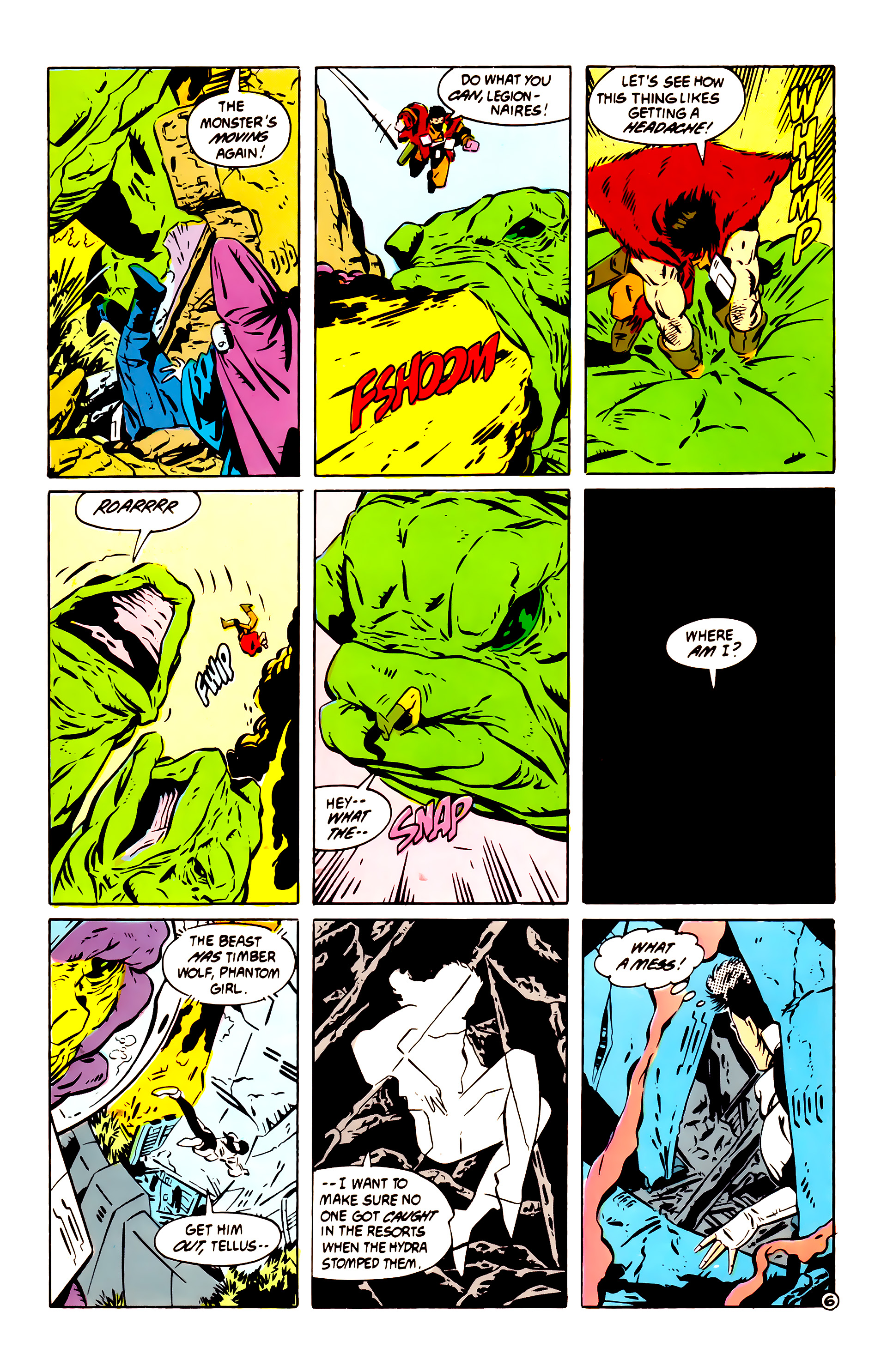 Legion of Super-Heroes (1984) 60 Page 6