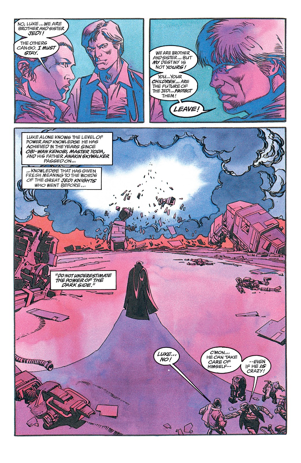 Read online Star Wars: Dark Empire Trilogy comic -  Issue # TPB (Part 1) - 27