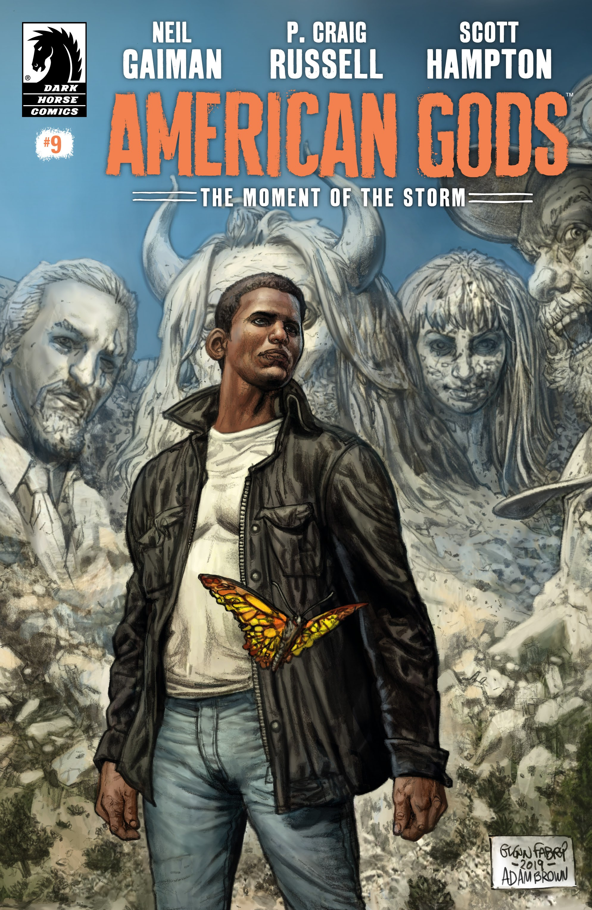 American Gods: The Moment of the Storm 9 Page 1