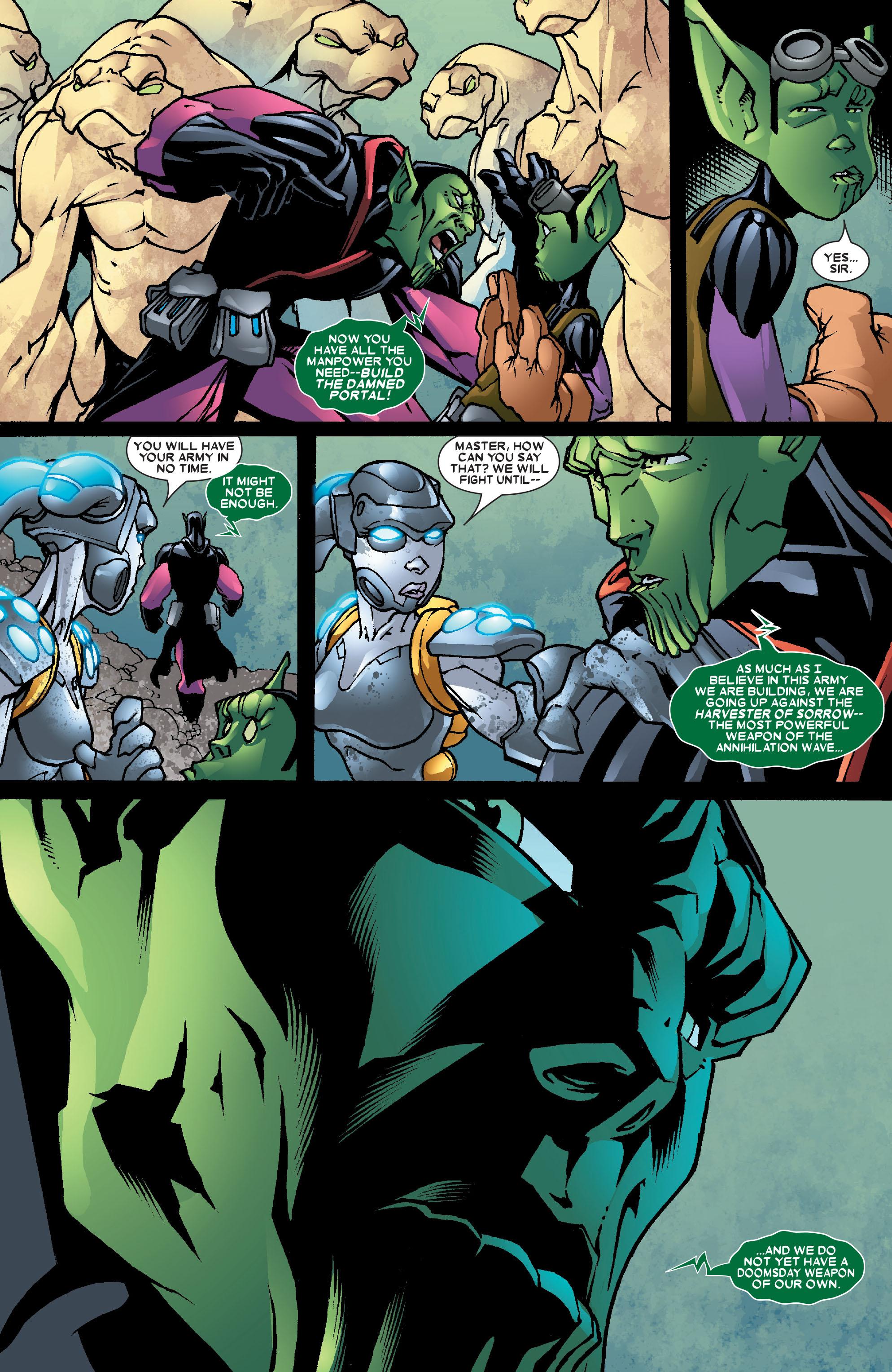 Read online Annihilation: Super-Skrull comic -  Issue #3 - 9