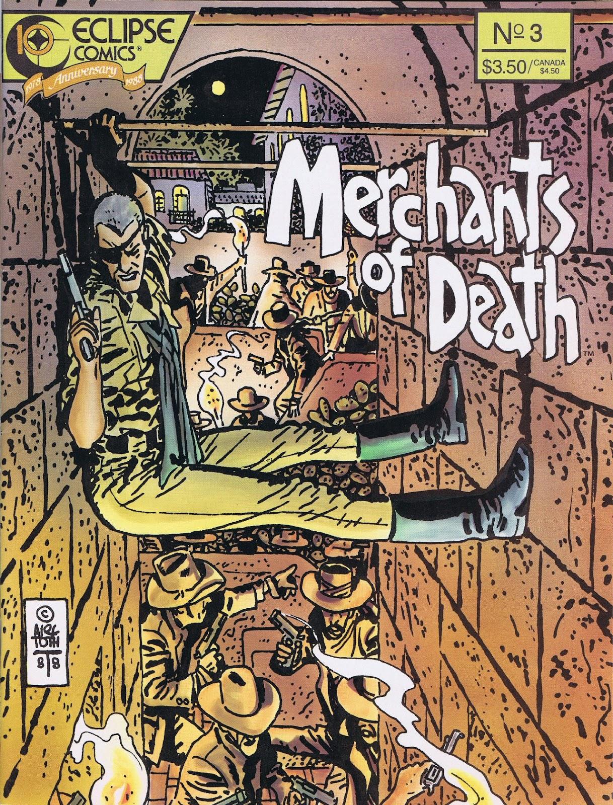 Read online Merchants of Death comic -  Issue #3 - 1