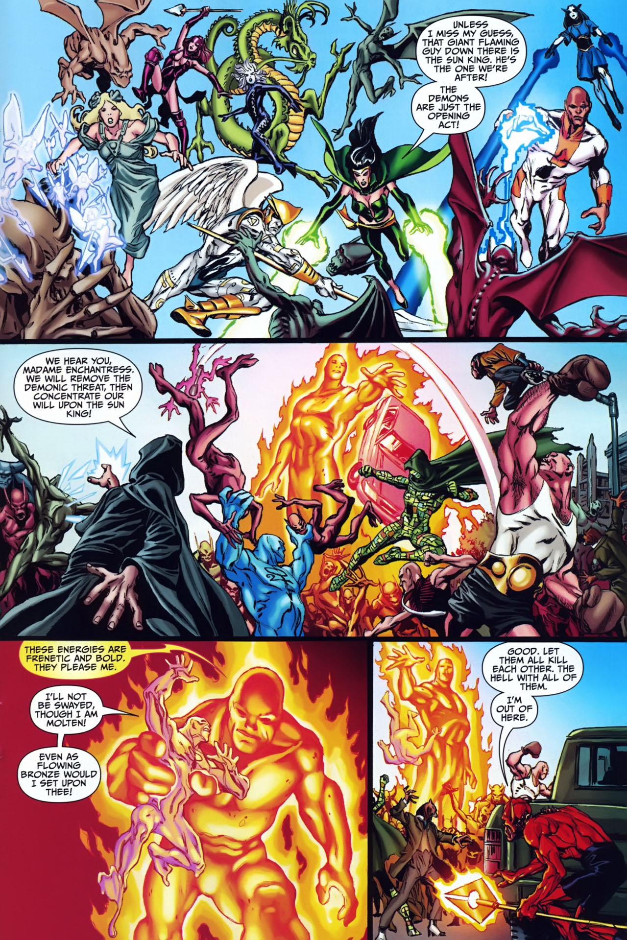 Read online Shadowpact comic -  Issue #24 - 19