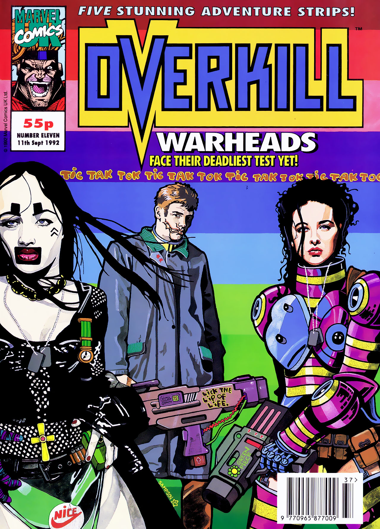 Read online Overkill comic -  Issue #11 - 1