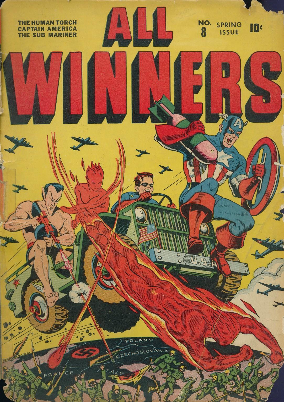 Read online All-Winners Comics comic -  Issue #8 - 3