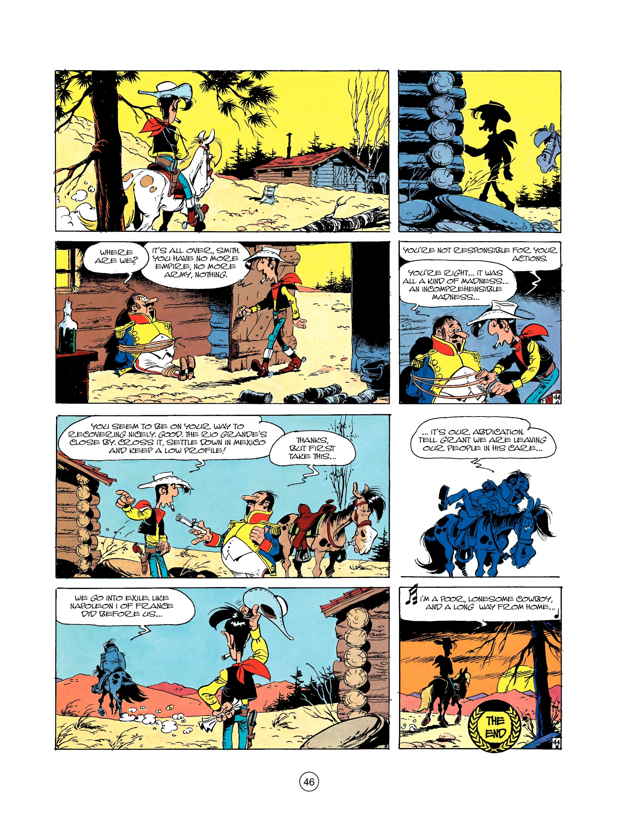 Read online A Lucky Luke Adventure comic -  Issue #22 - 46