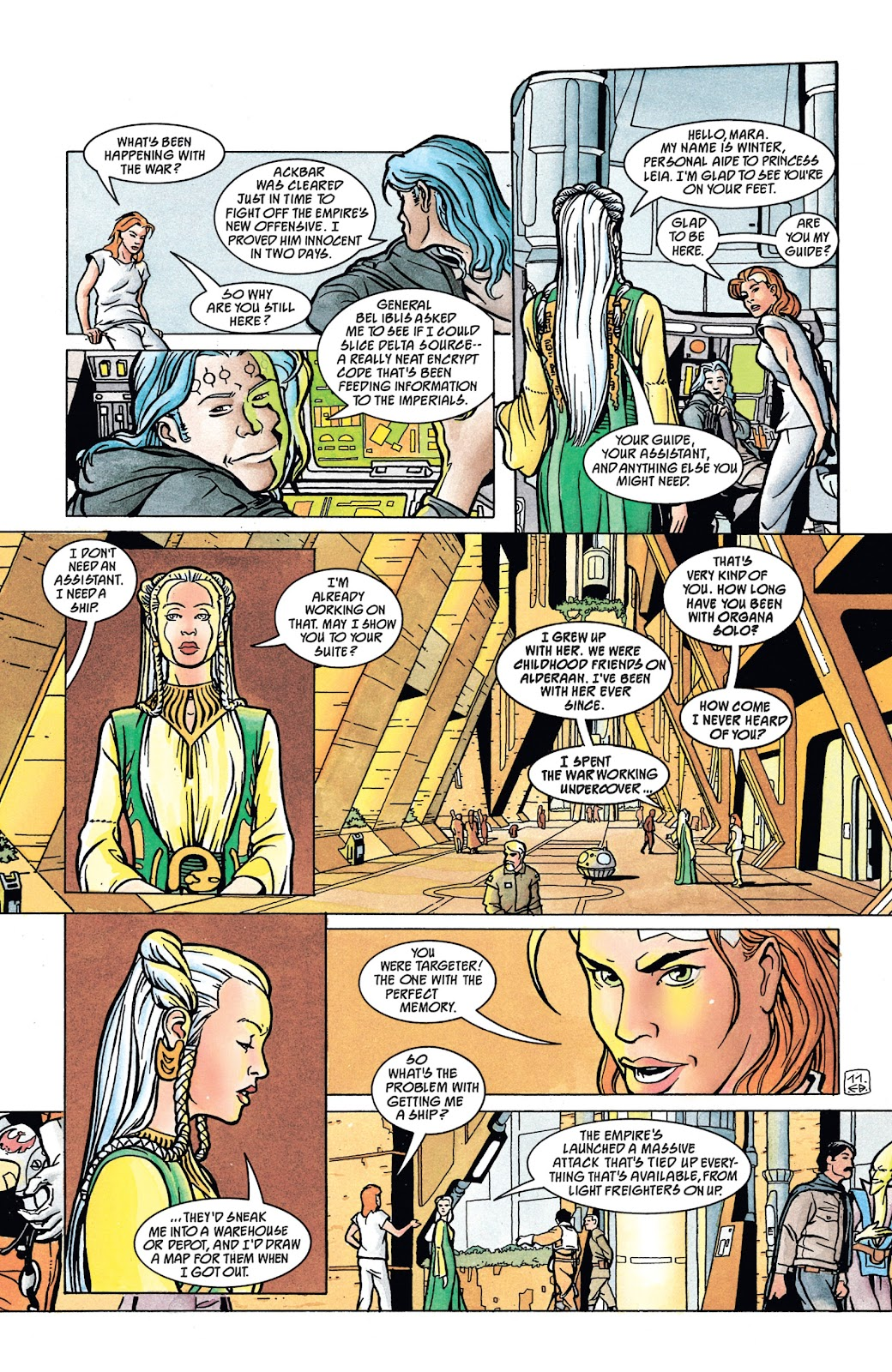Read online Star Wars Legends: The New Republic - Epic Collection comic -  Issue # TPB 4 (Part 4) - 9