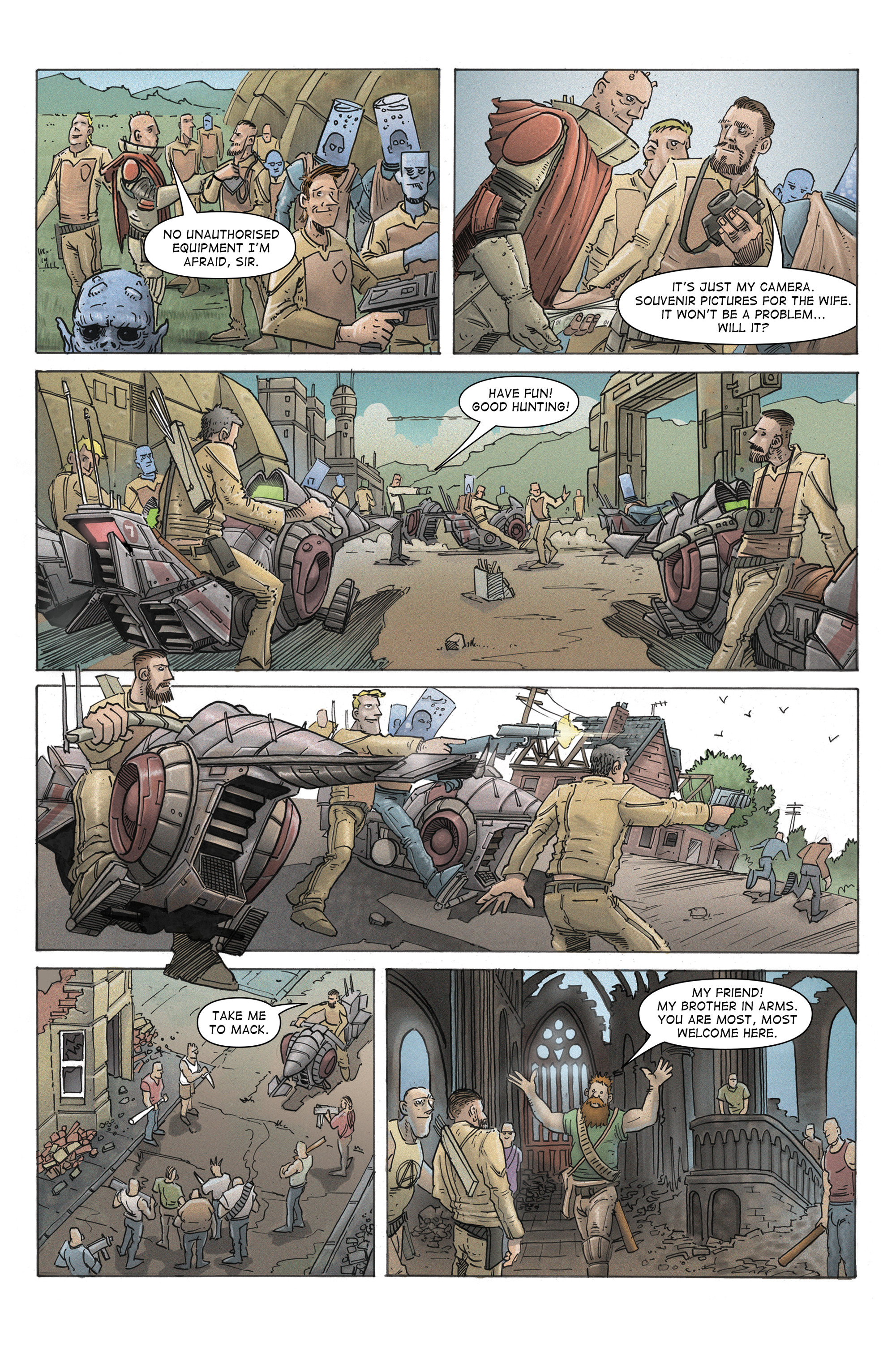 Read online 100% Biodegradable comic -  Issue #12 - 31