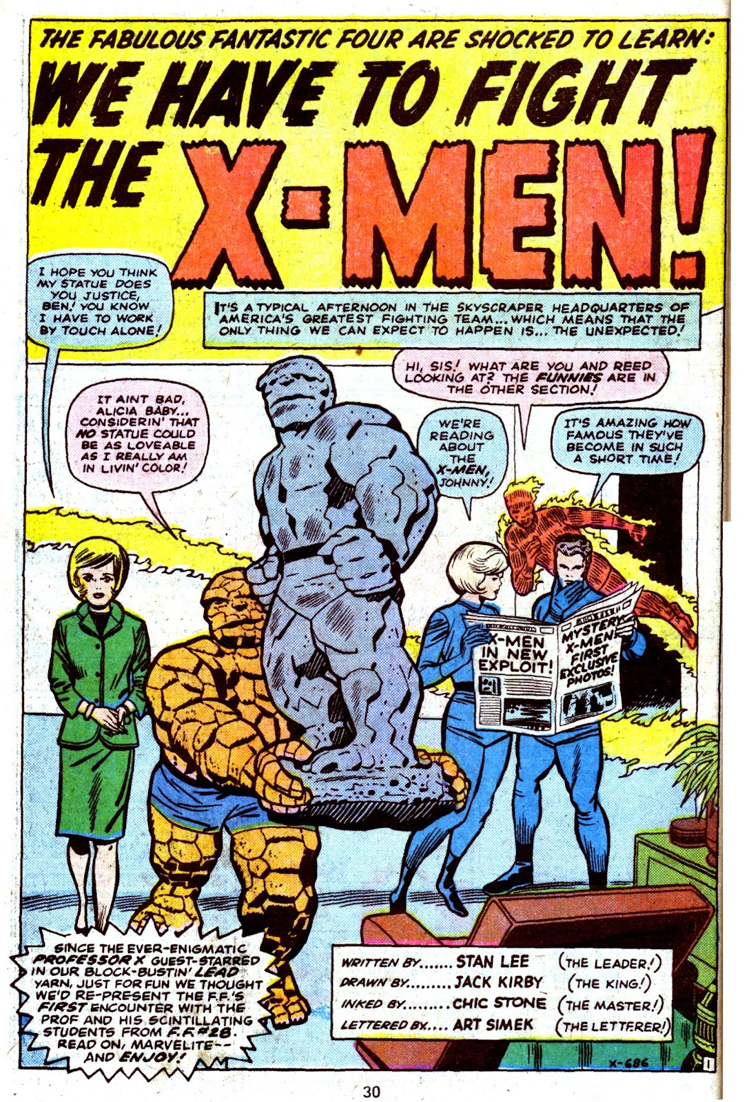Giant-Size Fantastic Four issue 4 - Page 32