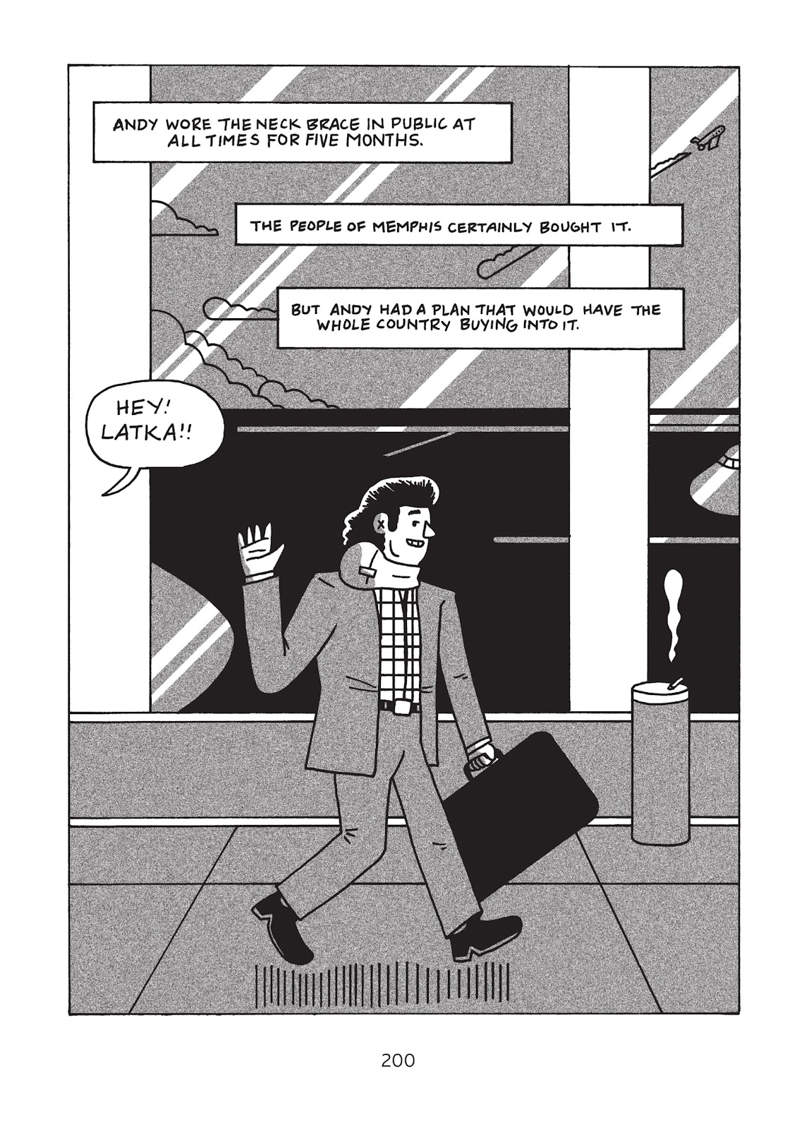 Read online Is This Guy For Real?: The Unbelievable Andy Kaufman comic -  Issue # TPB (Part 3) - 5