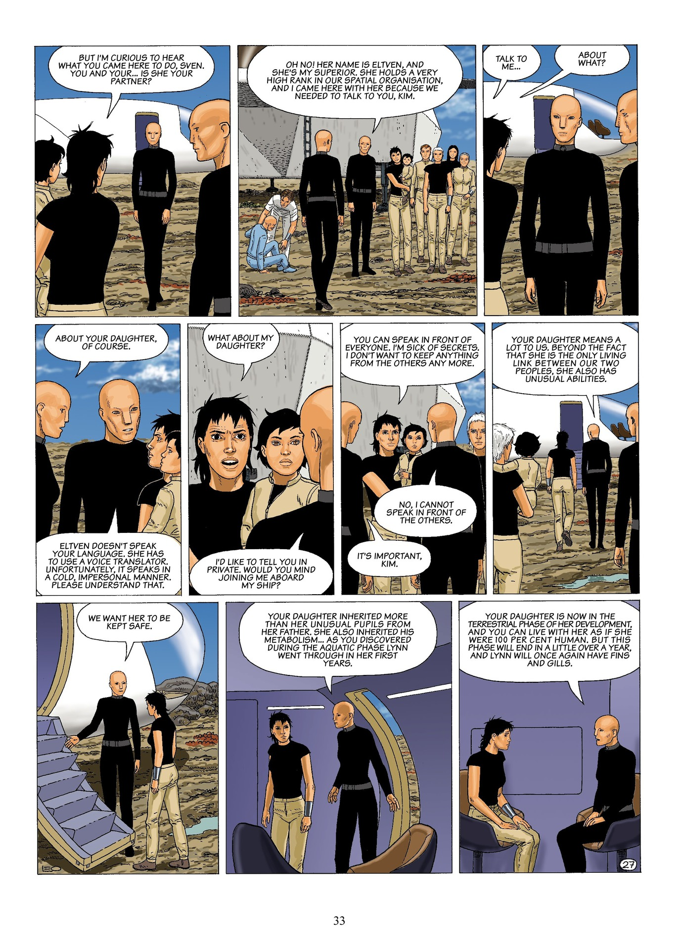 Read online Antares comic -  Issue #6 - 35