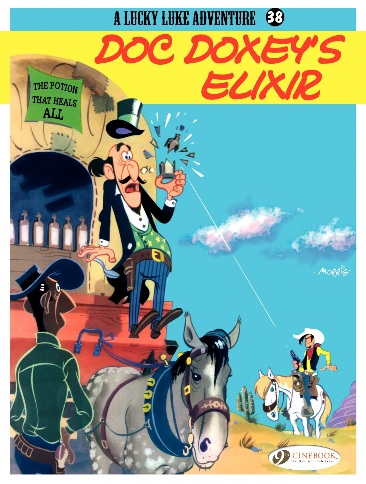 A Lucky Luke Adventure issue 38 - Page 1