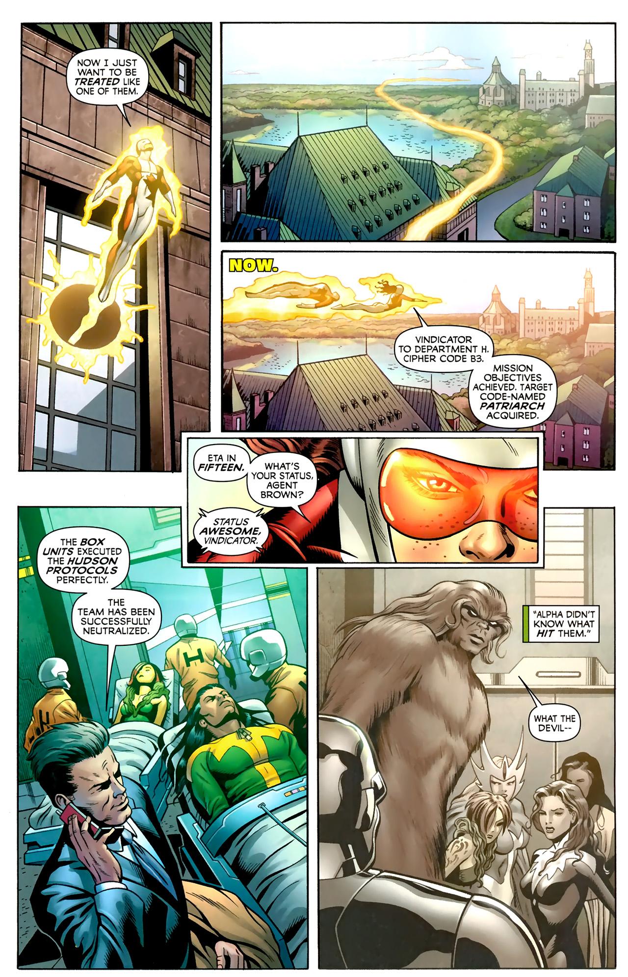 Read online Alpha Flight (2011) comic -  Issue #2 - 6