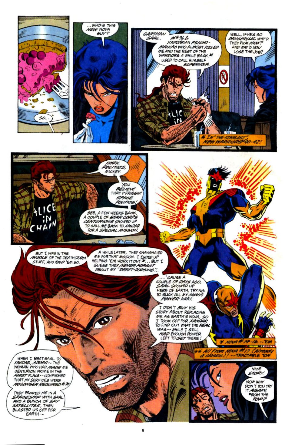 The New Warriors Issue #60 #64 - English 6