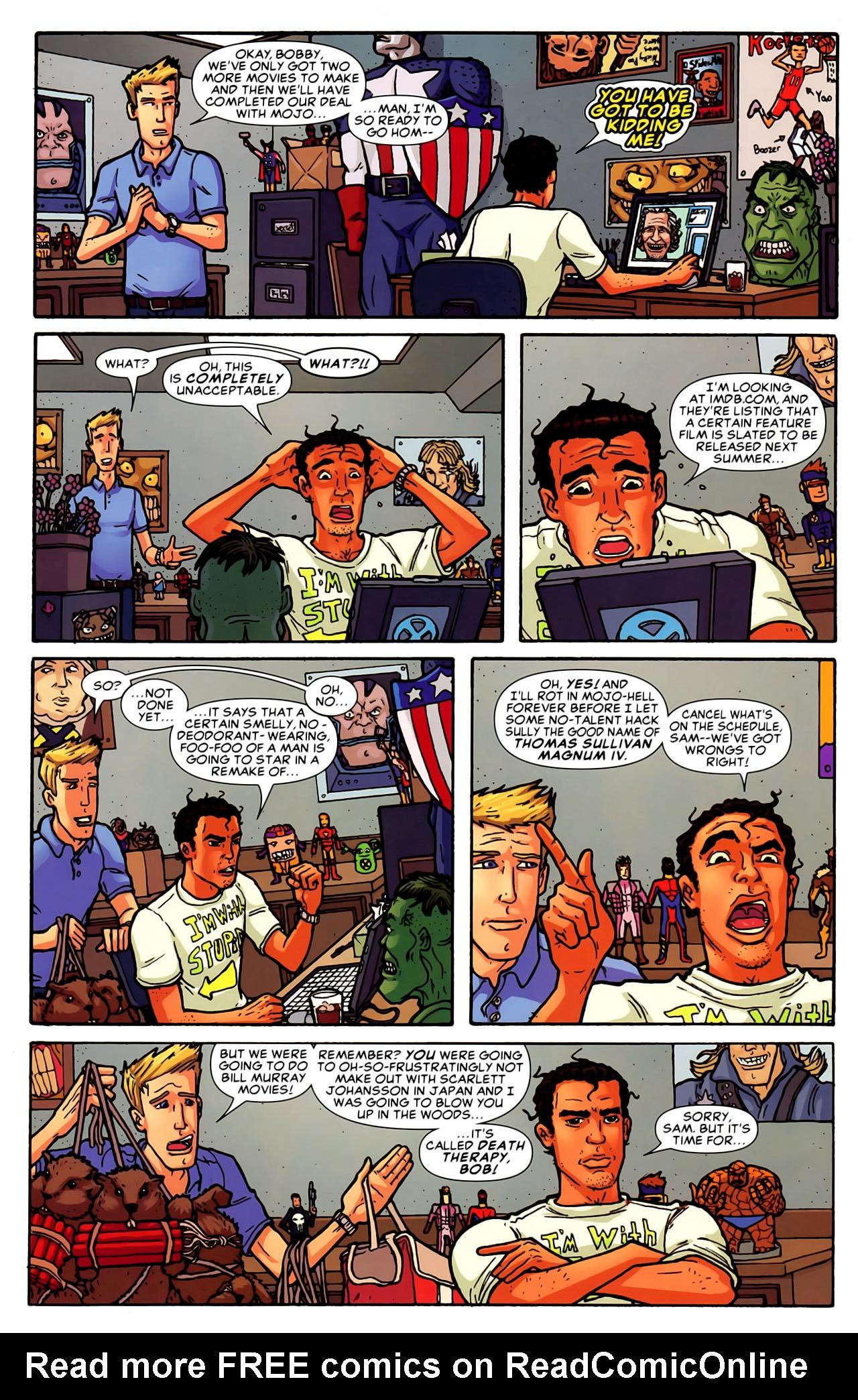 Read online Astonishing Tales (2009) comic -  Issue #6 - 27