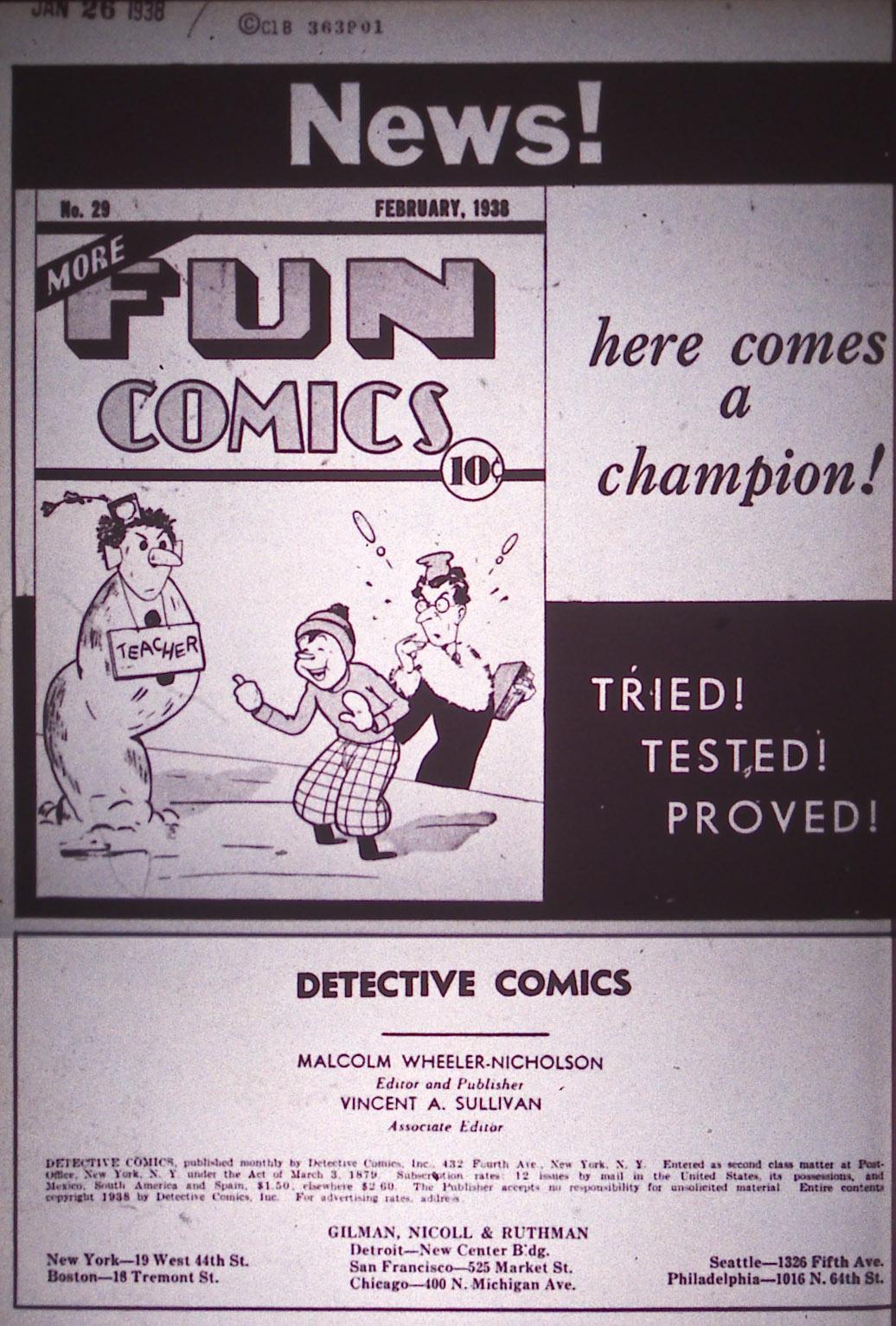 Read online Detective Comics (1937) comic -  Issue #12 - 2