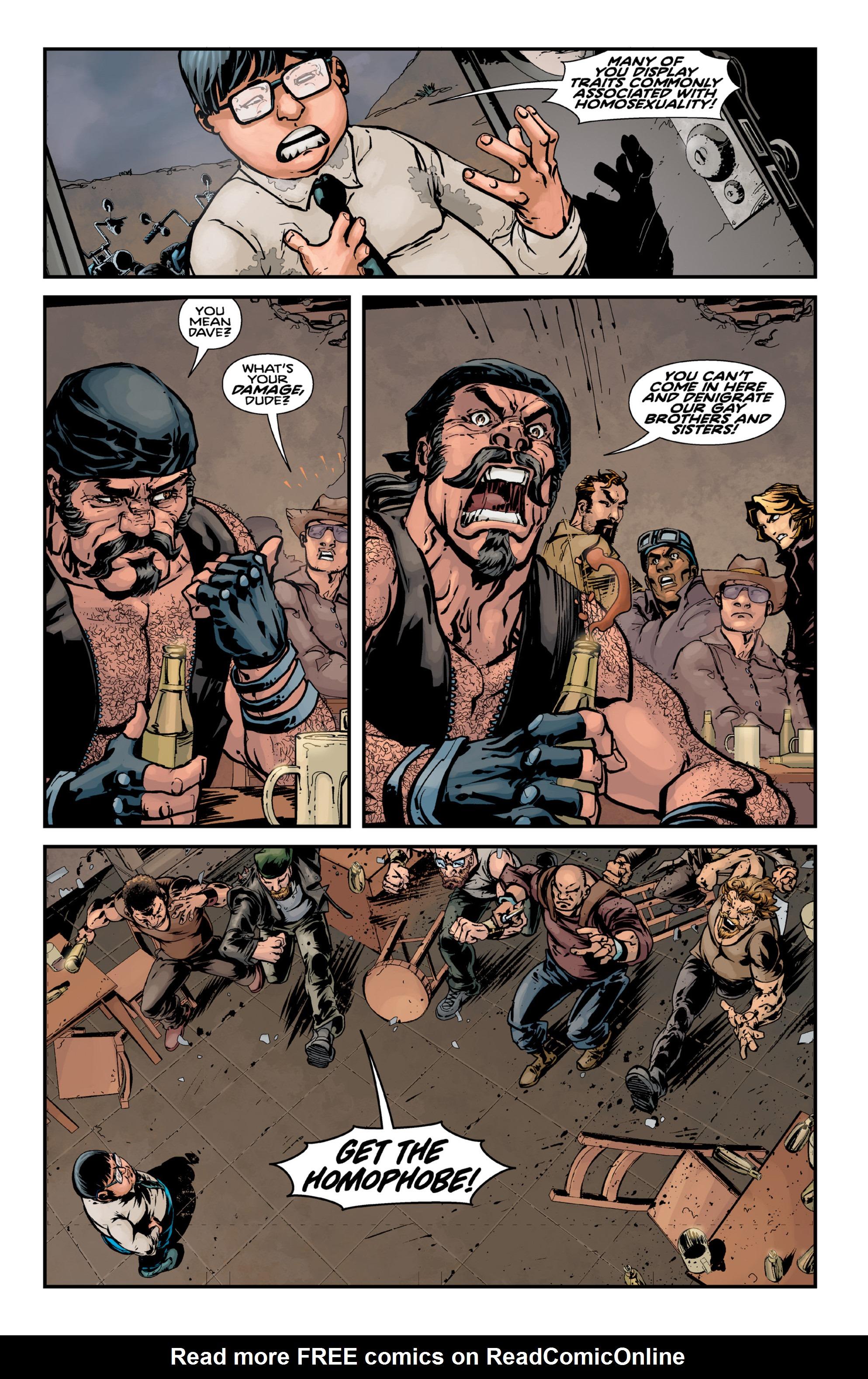 Read online Brain Boy:  The Men from G.E.S.T.A.L.T. comic -  Issue # TPB - 47