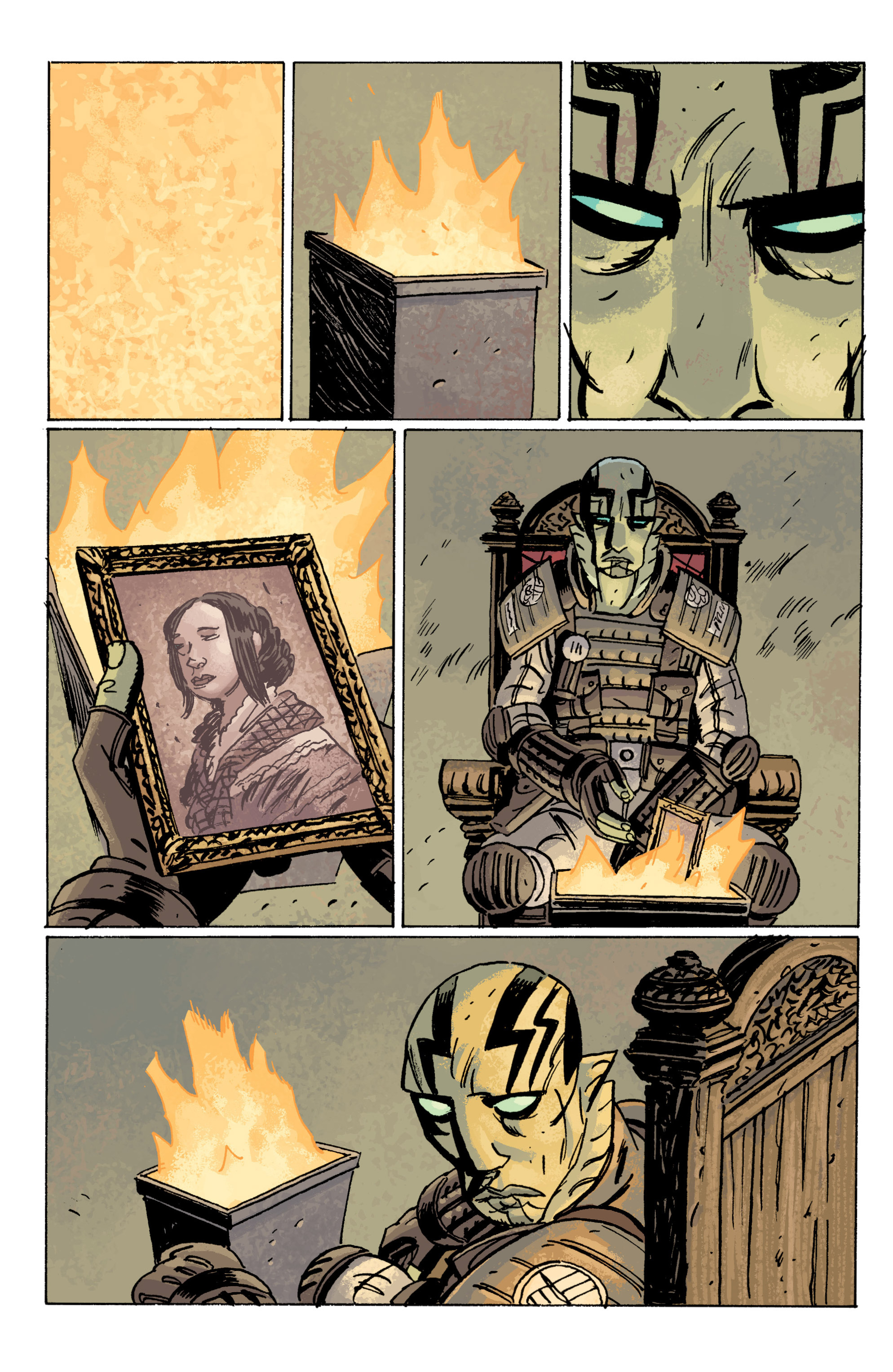 Read online B.P.R.D. (2003) comic -  Issue # TPB 10 - 117