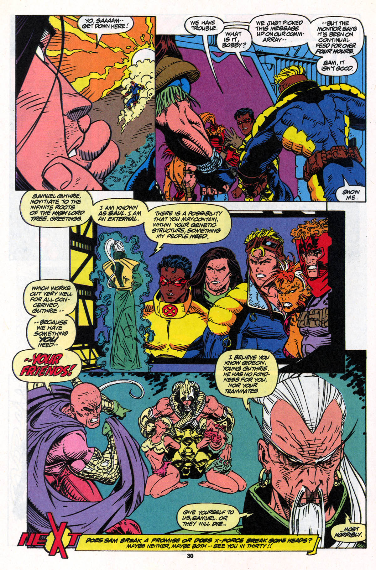 Read online X-Force (1991) comic -  Issue #22 - 30