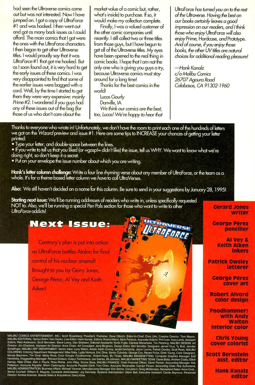 Read online UltraForce (1994) comic -  Issue #4 - 27