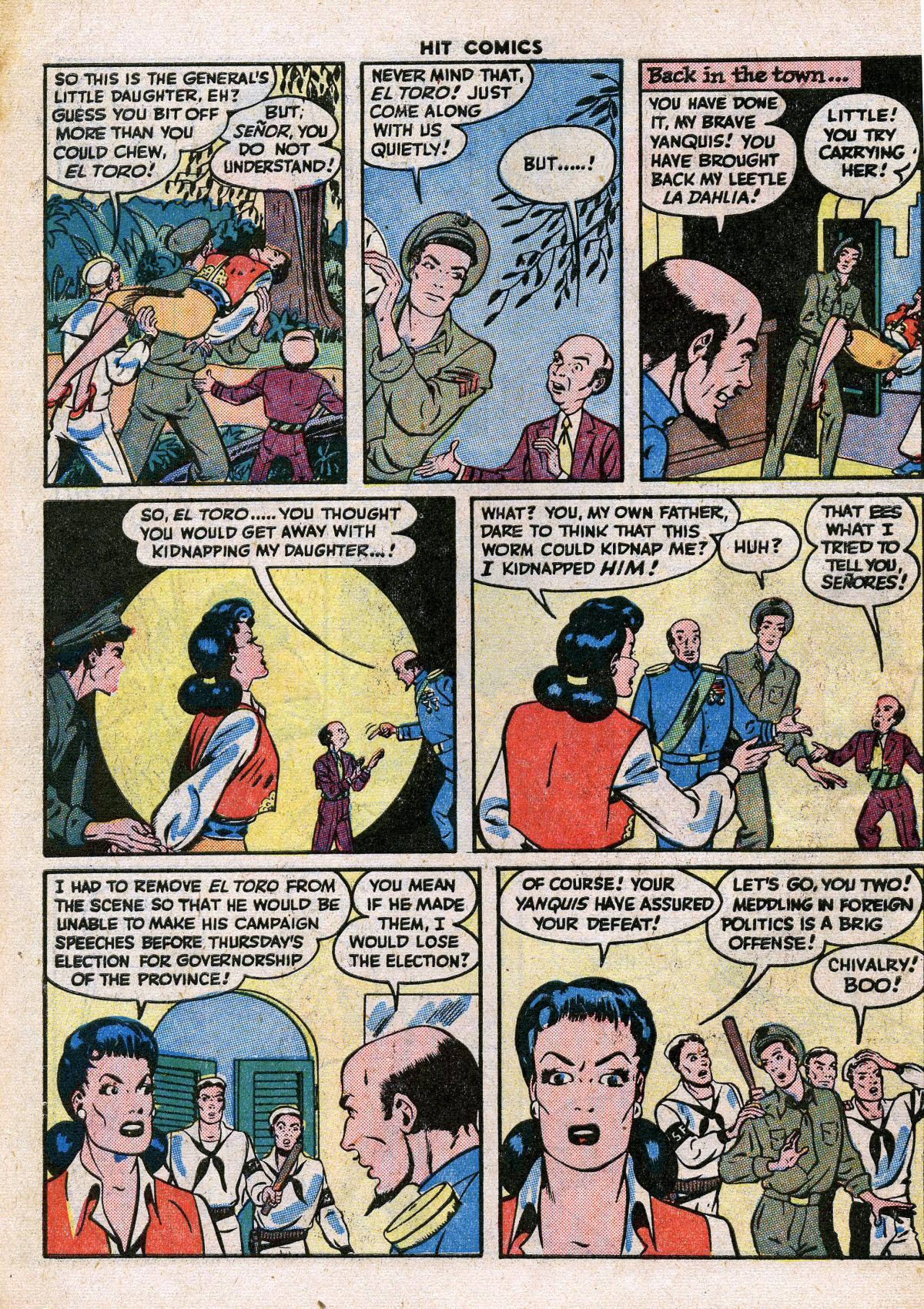 Read online Hit Comics comic -  Issue #41 - 50