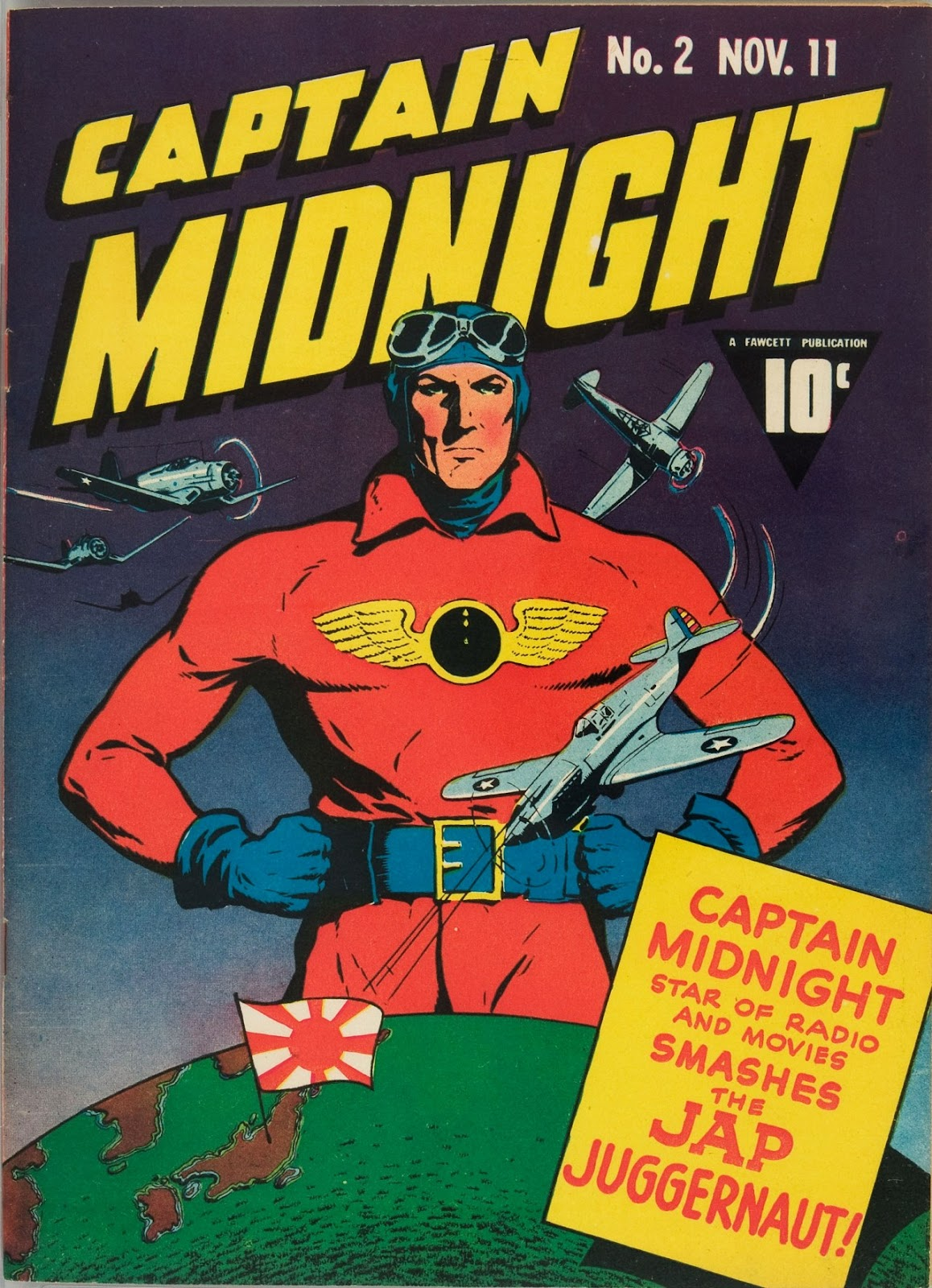 Captain Midnight (1942) issue 2 - Page 1
