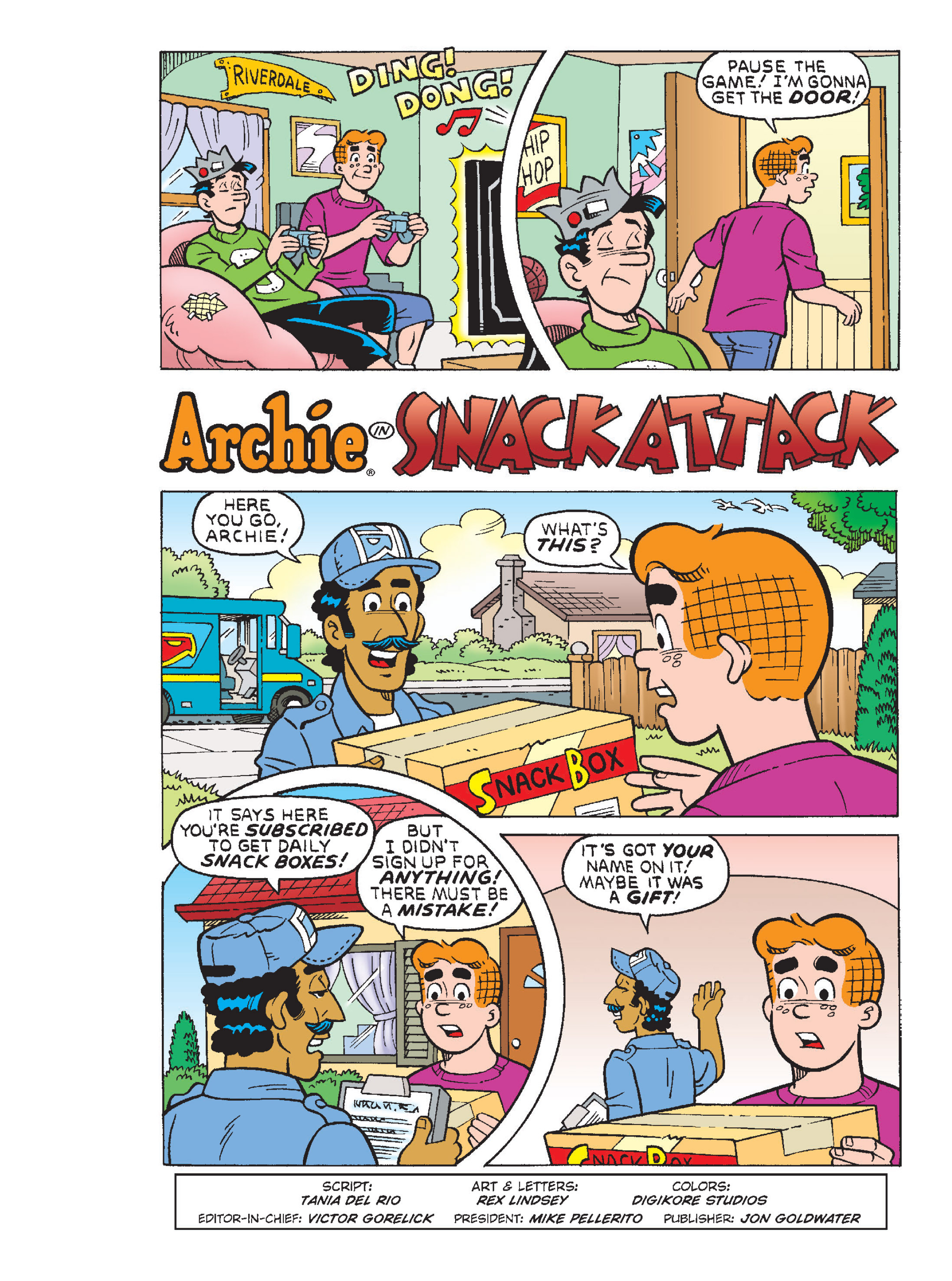 Read online Archie 1000 Page Comics Blowout! comic -  Issue # TPB (Part 1) - 73