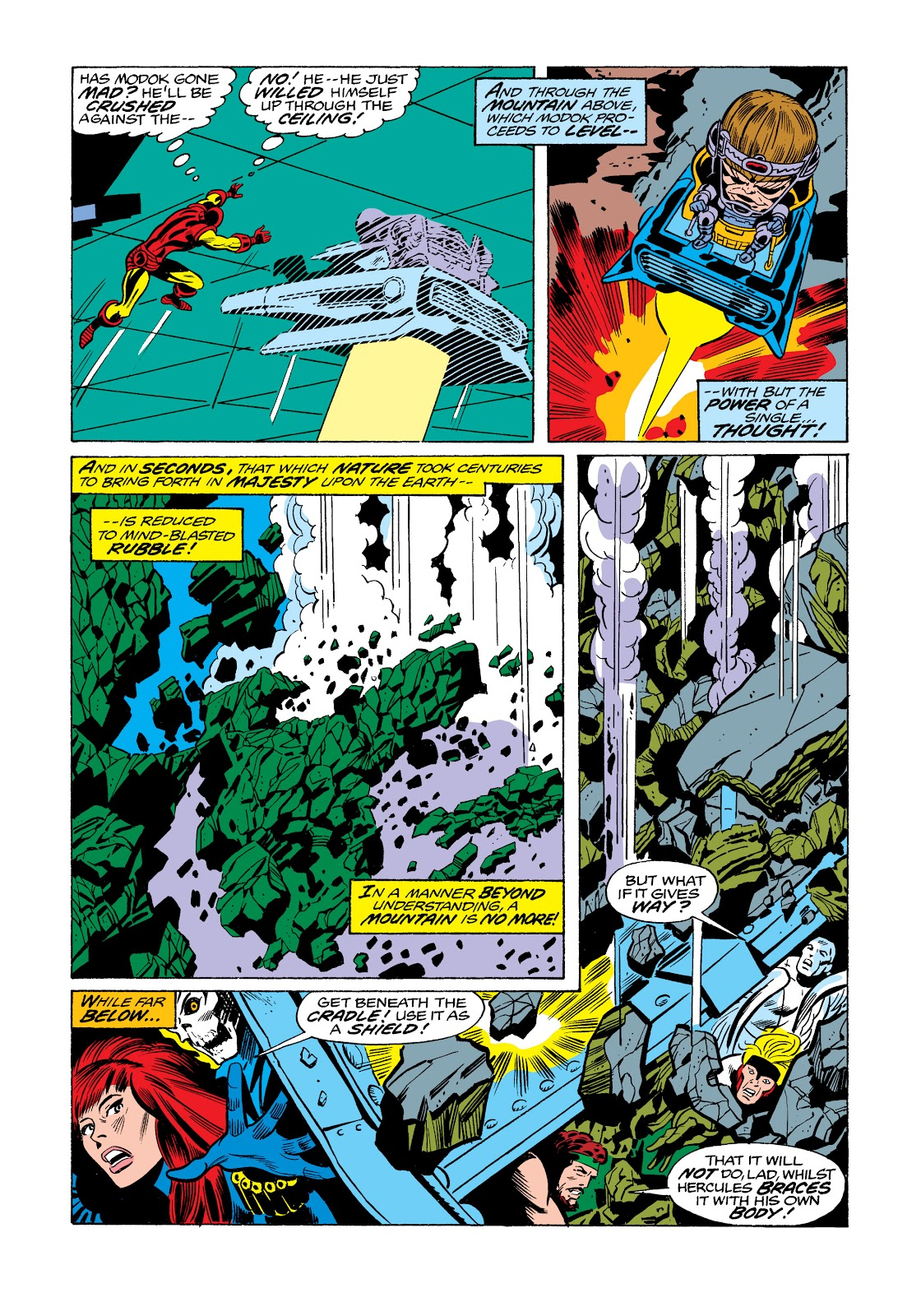 Read online Marvel Masterworks: The Invincible Iron Man comic -  Issue # TPB 11 (Part 3) - 110