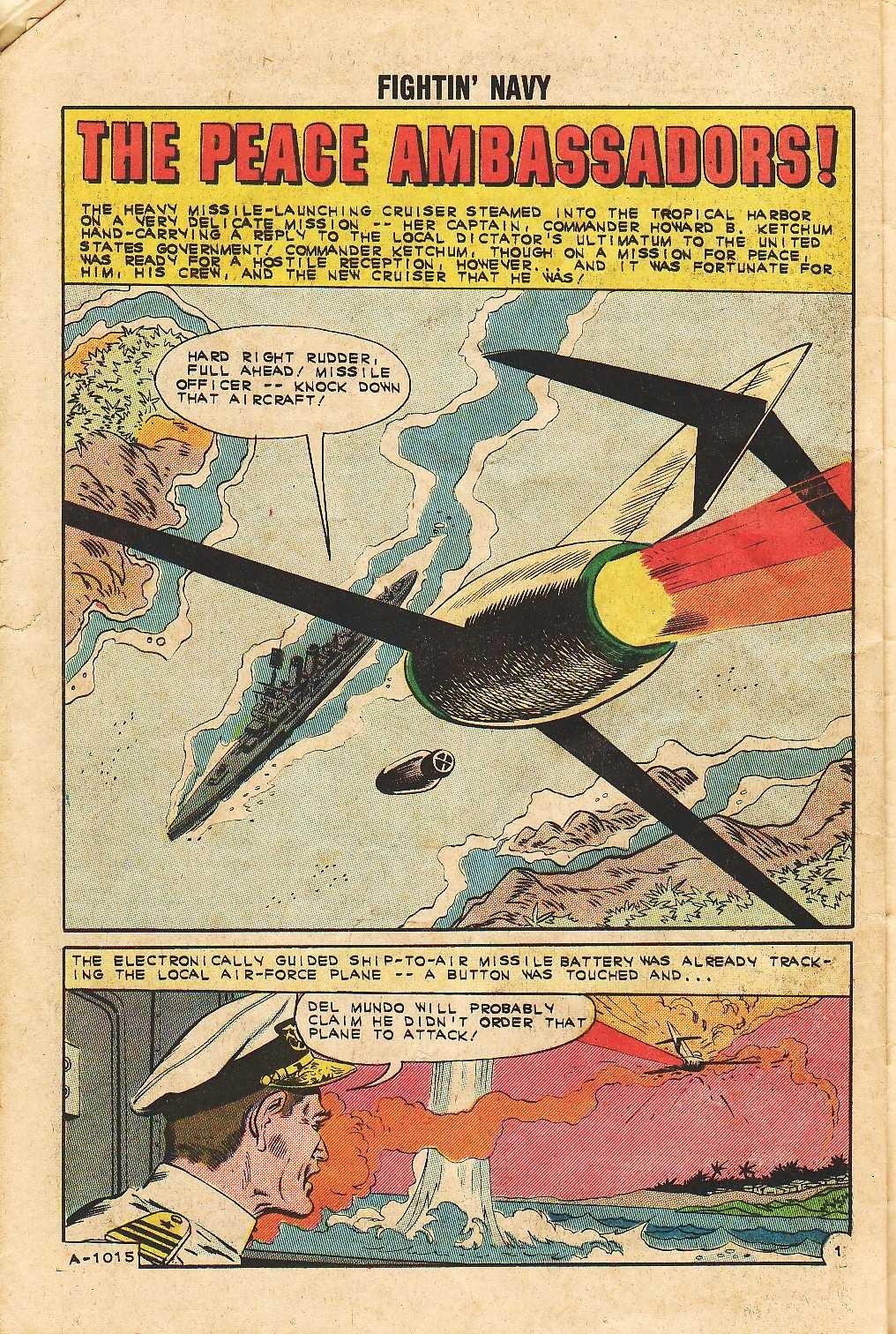 Read online Fightin' Navy comic -  Issue #105 - 26