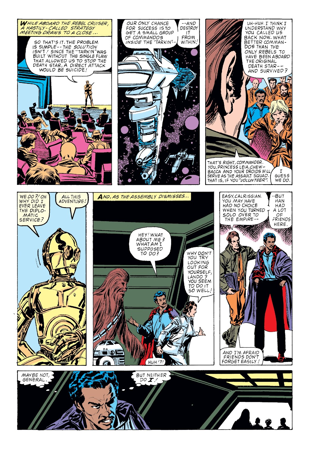 Read online Star Wars Legends: The Original Marvel Years - Epic Collection comic -  Issue # TPB 3 (Part 3) - 82