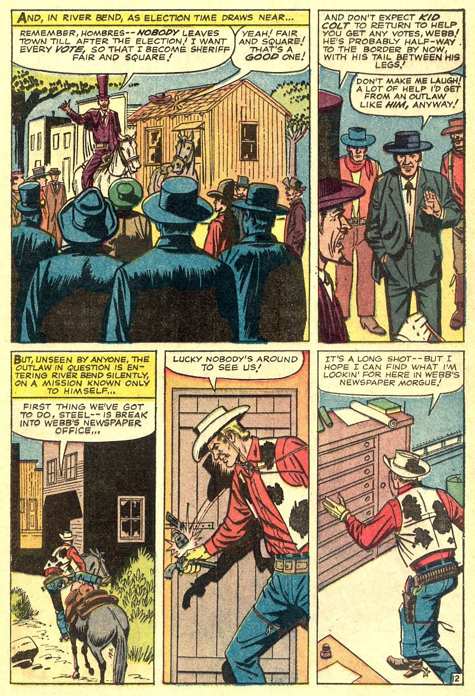 Kid Colt Outlaw issue 116 - Page 17