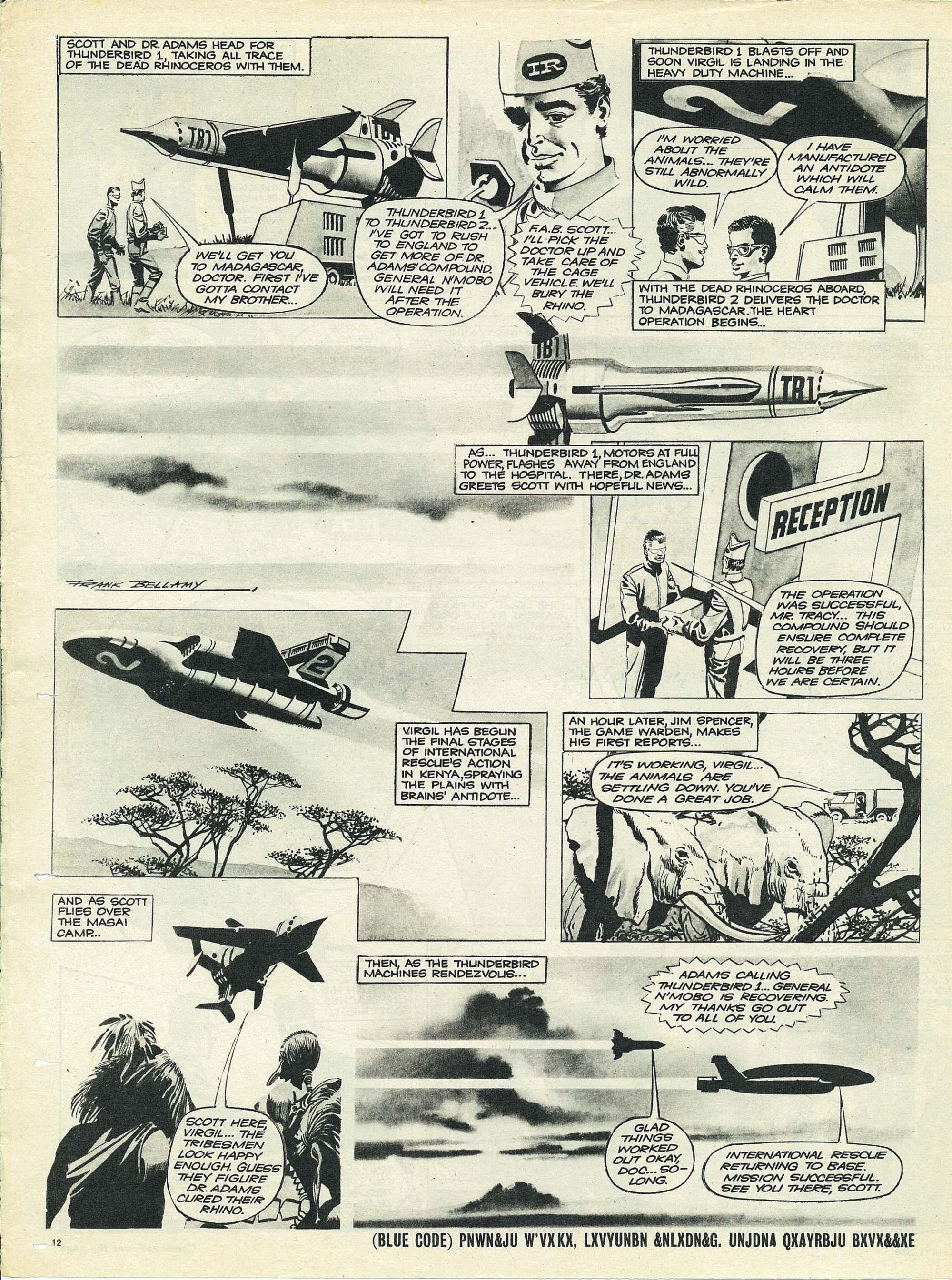 Read online TV Century 21 (TV 21) comic -  Issue #65 - 11