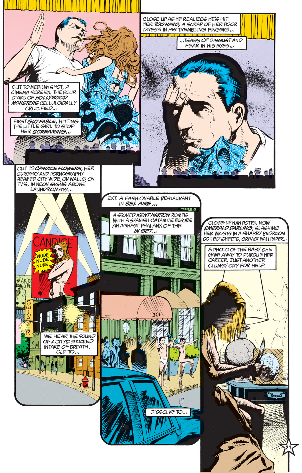 Read online Shade, the Changing Man comic -  Issue #5 - 23