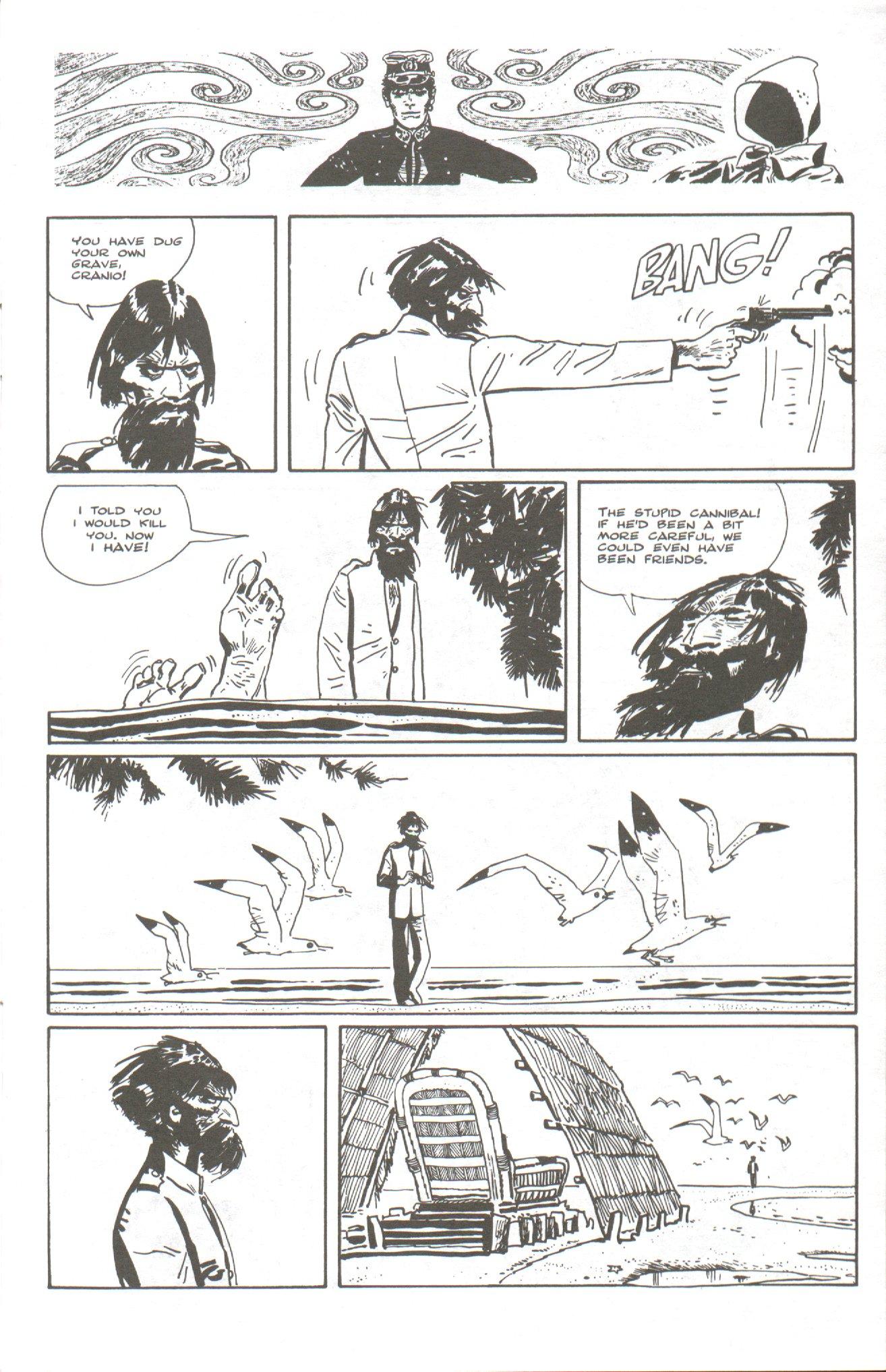 Read online Corto Maltese: Ballad of the Salt Sea comic -  Issue #5 - 11