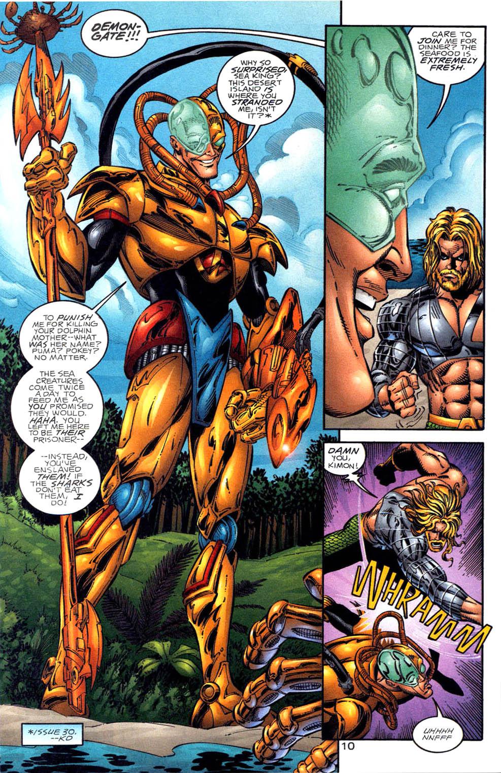 Read online Aquaman (1994) comic -  Issue #58 - 10